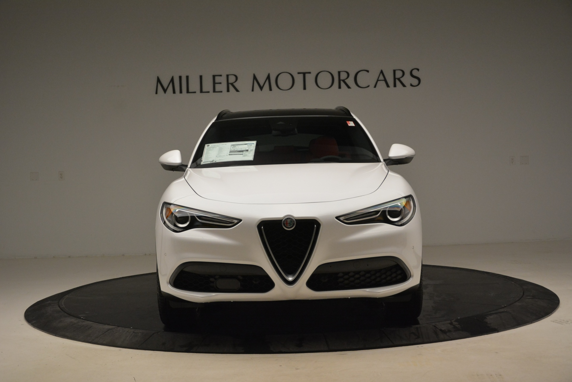 New 2018 Alfa Romeo Stelvio Ti Sport Q4 For Sale In Westport, CT 1787_p12
