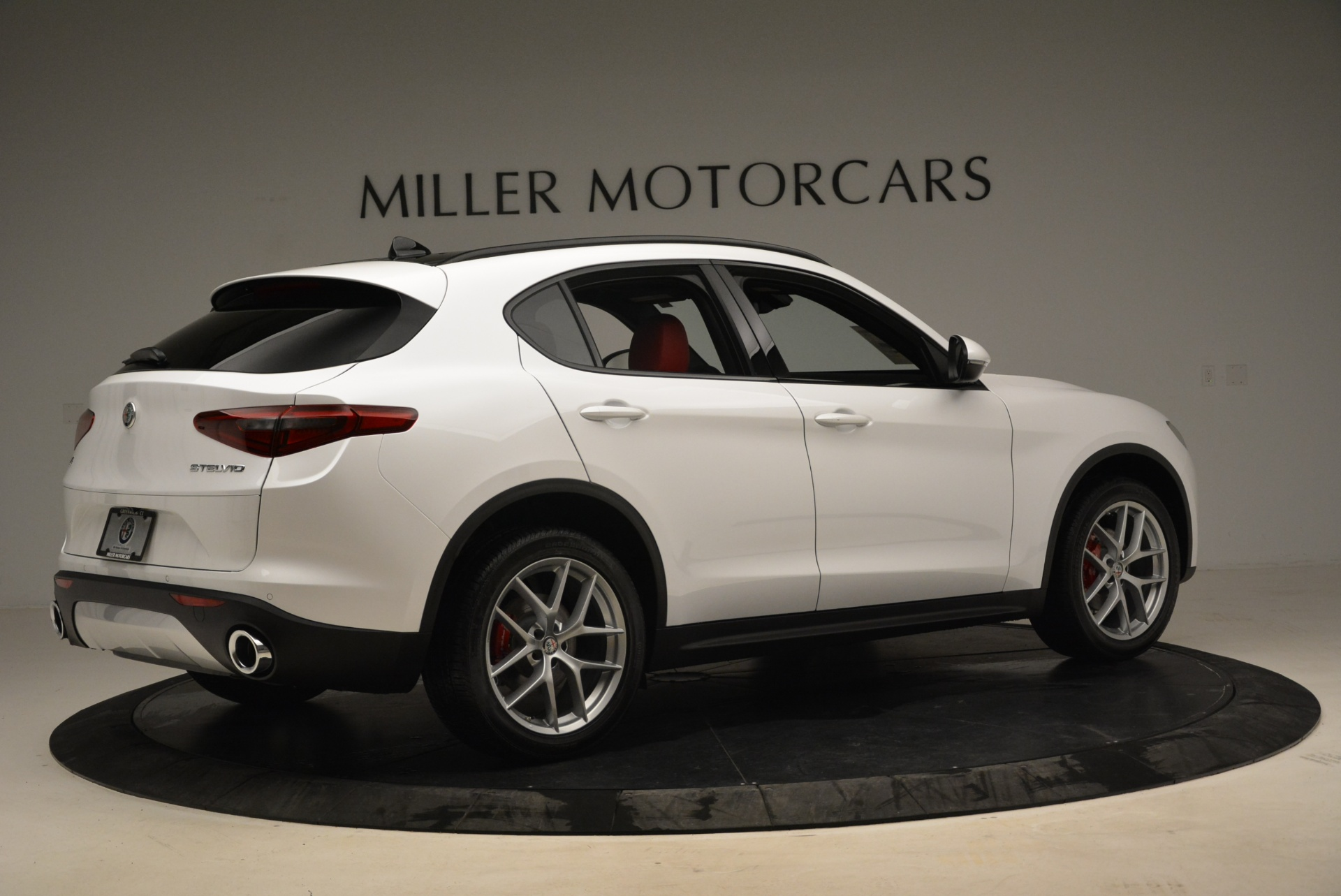 New 2018 Alfa Romeo Stelvio Ti Sport Q4 For Sale In Westport, CT 1787_p8