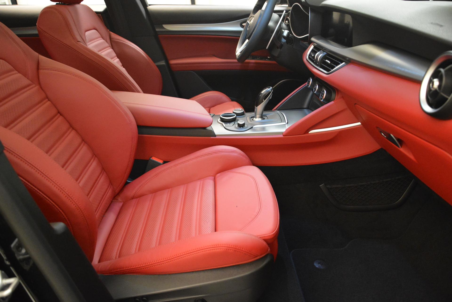 New 2018 Alfa Romeo Stelvio Ti Sport Q4 For Sale In Westport, CT 1789_p20