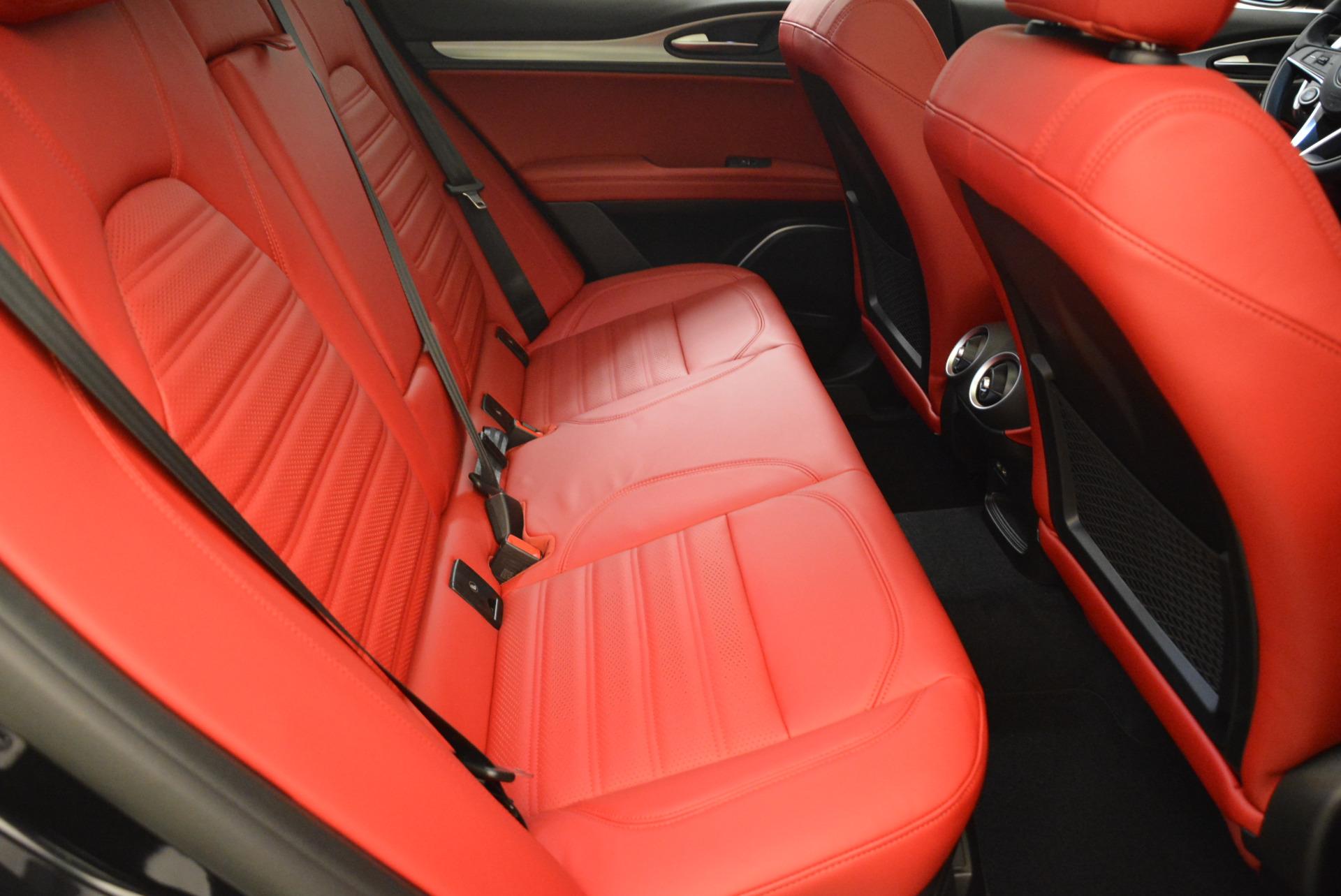 New 2018 Alfa Romeo Stelvio Ti Sport Q4 For Sale In Westport, CT 1789_p23