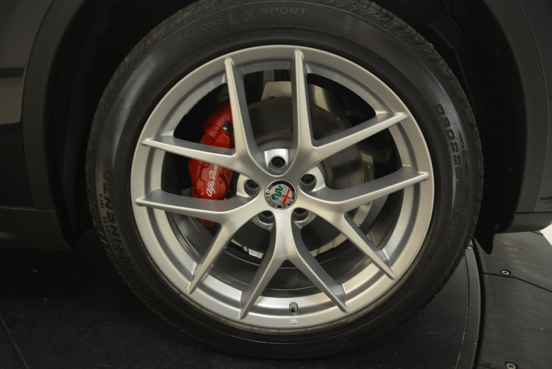 New 2018 Alfa Romeo Stelvio Ti Sport Q4 For Sale In Westport, CT 1789_p25