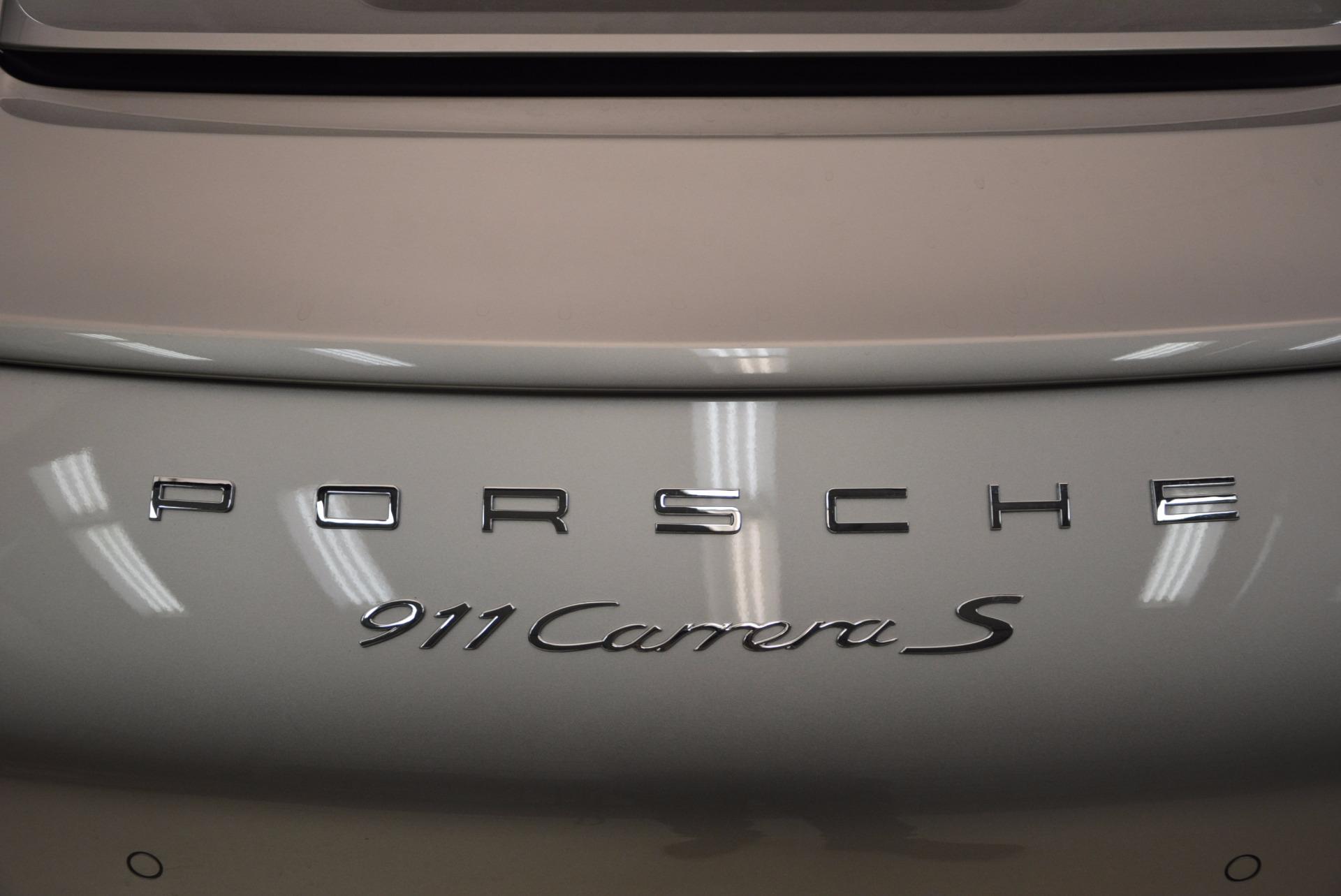 Used 2012 Porsche 911 Carrera S For Sale In Westport, CT 1790_p34