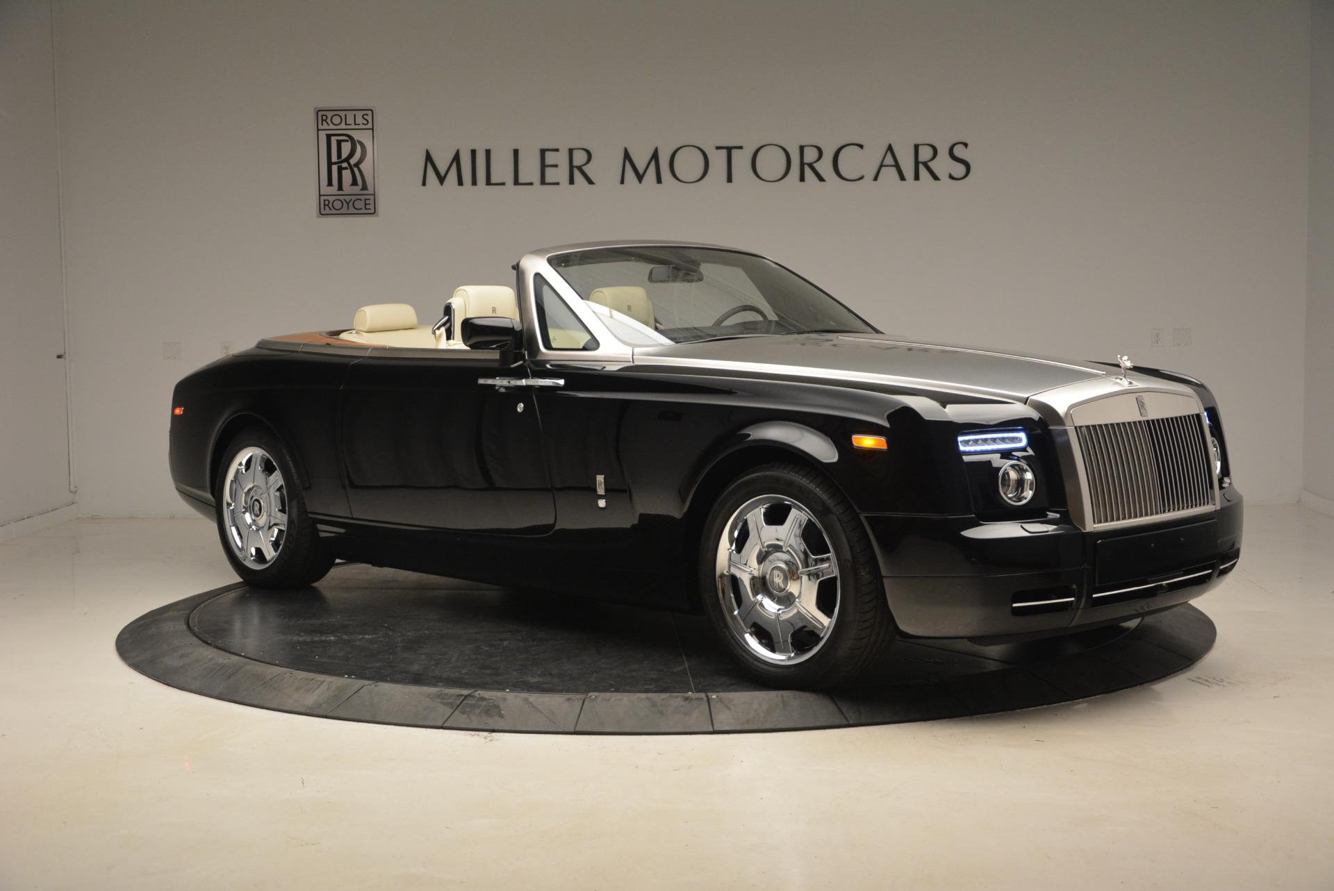 Used 2009 Rolls-Royce Phantom Drophead Coupe  For Sale In Westport, CT 1792_p12