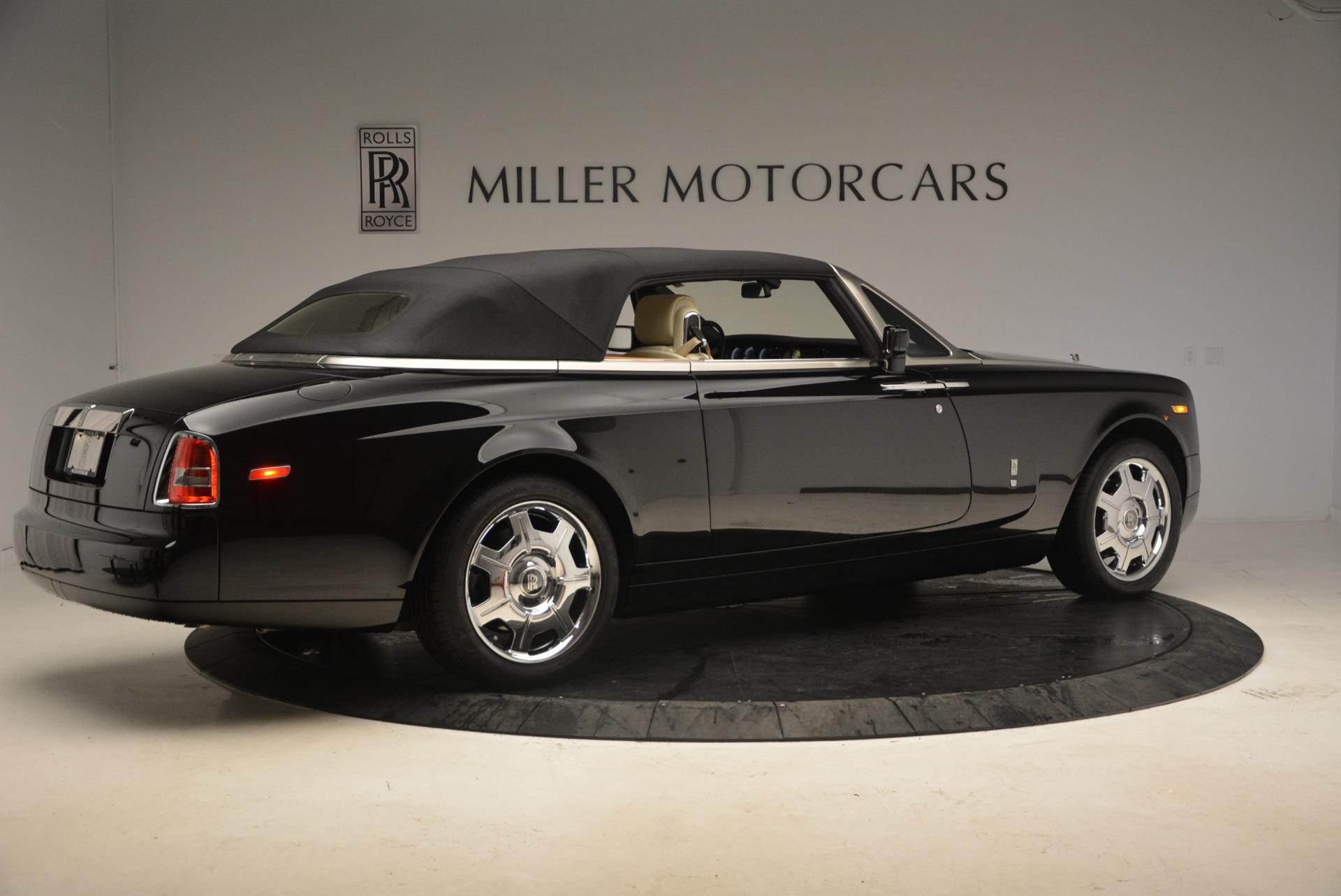 Used 2009 Rolls-Royce Phantom Drophead Coupe  For Sale In Westport, CT 1792_p20