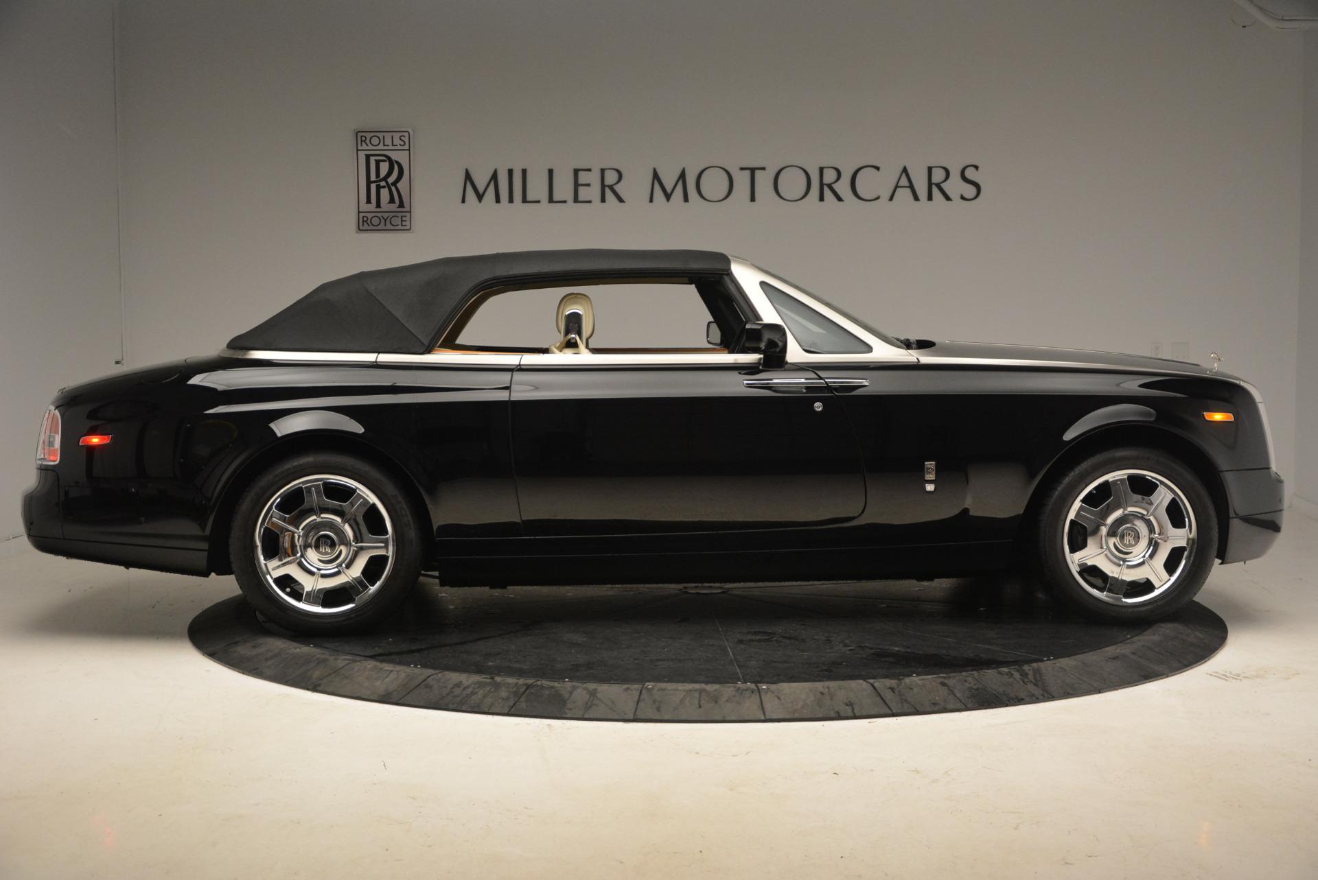 Used 2009 Rolls-Royce Phantom Drophead Coupe  For Sale In Westport, CT 1792_p21