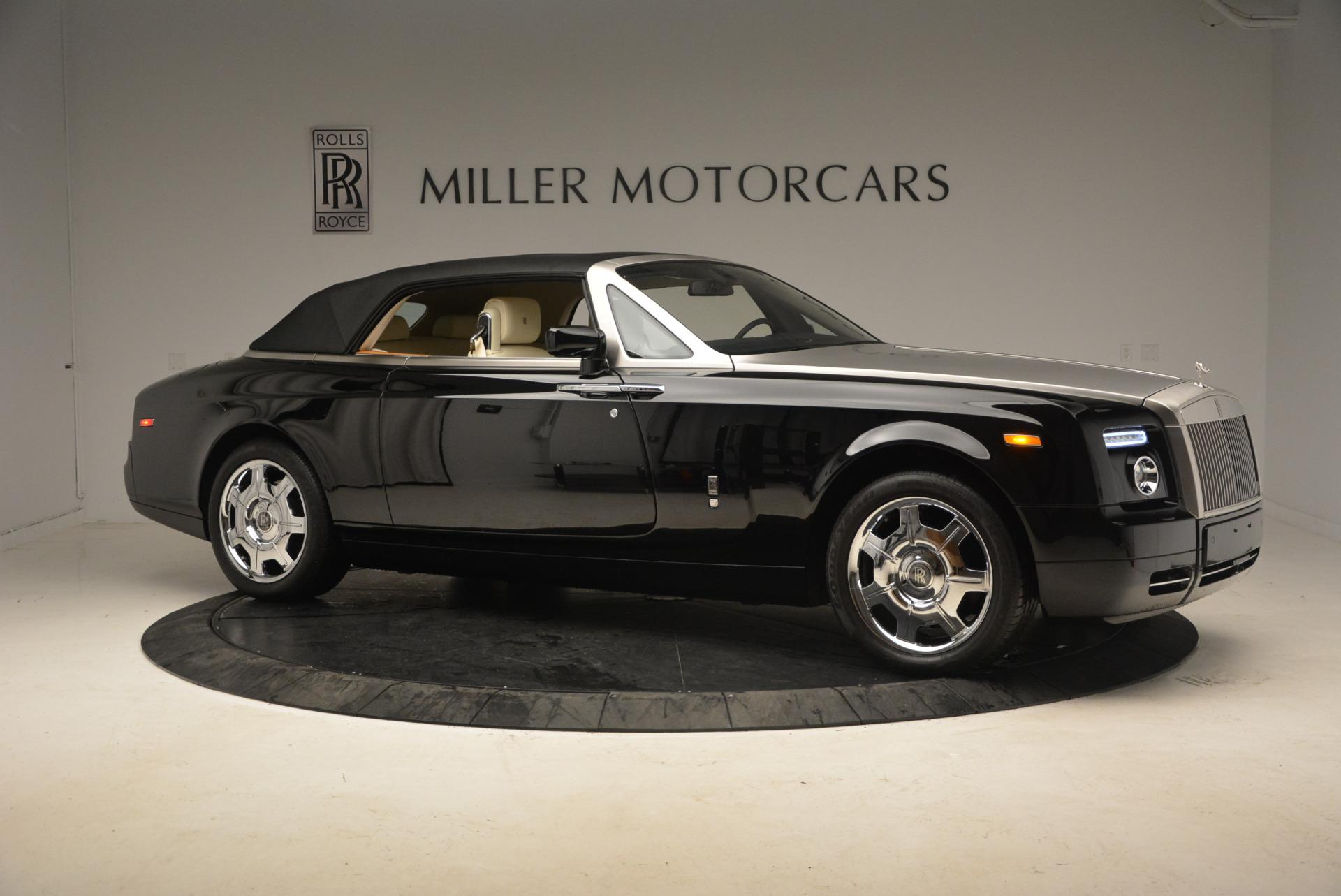 Used 2009 Rolls-Royce Phantom Drophead Coupe  For Sale In Westport, CT 1792_p22