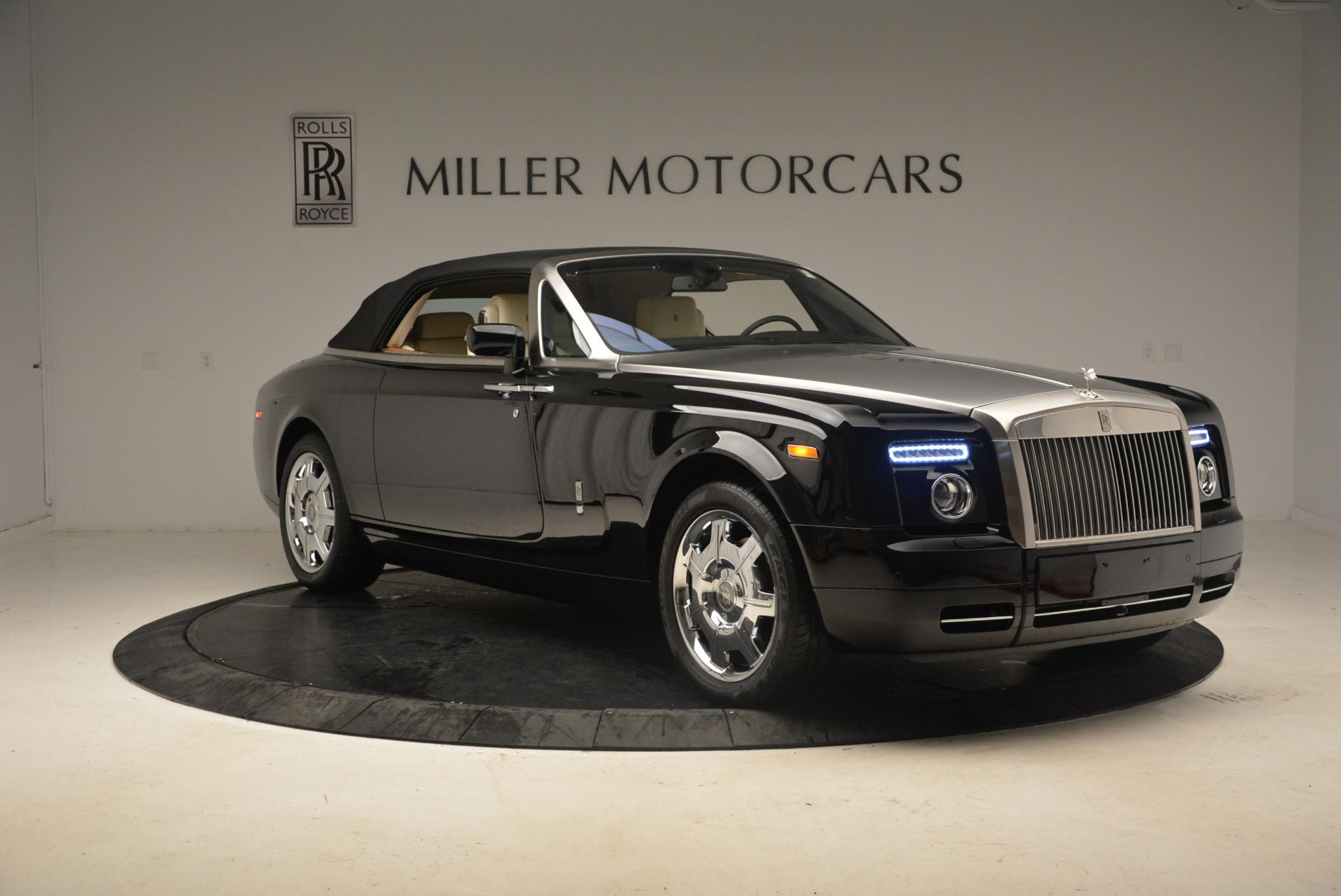 Used 2009 Rolls-Royce Phantom Drophead Coupe  For Sale In Westport, CT 1792_p23