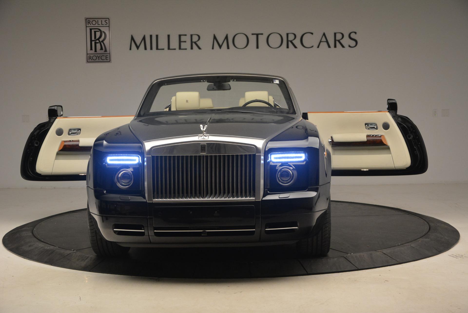 Used 2009 Rolls-Royce Phantom Drophead Coupe  For Sale In Westport, CT 1792_p30