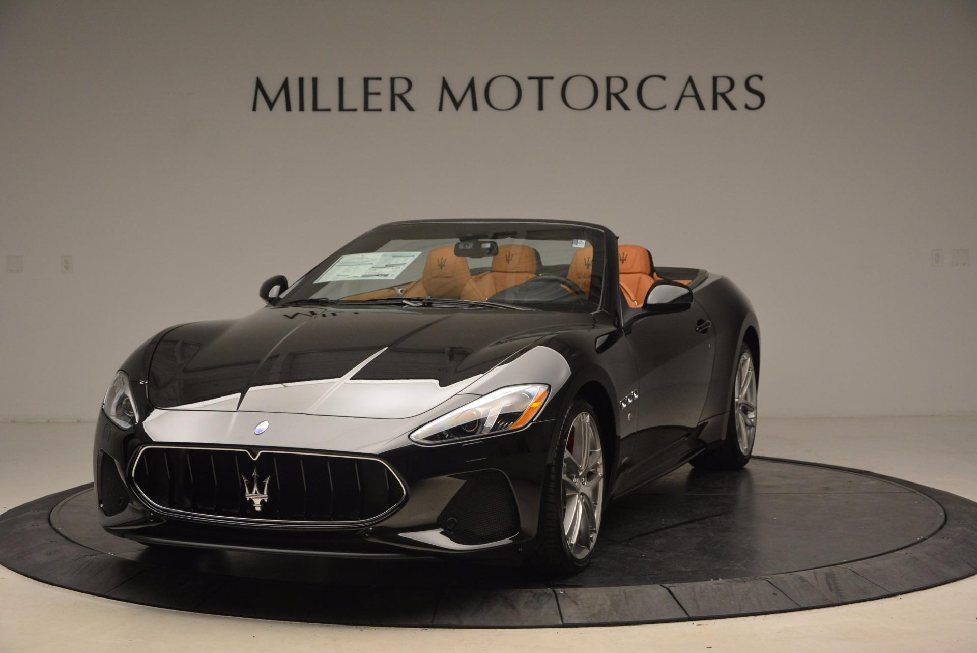 New 2018 Maserati GranTurismo Sport Convertible For Sale In Westport, CT 1795_main
