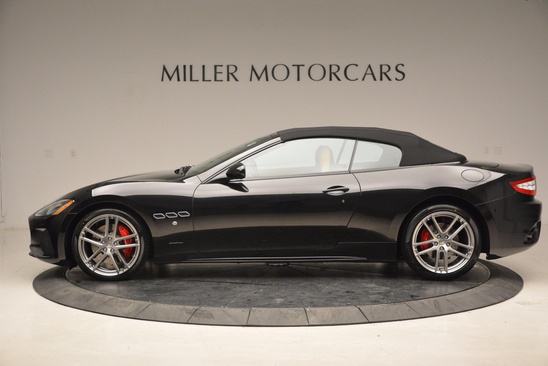 New 2018 Maserati GranTurismo Sport Convertible For Sale In Westport, CT 1795_p15
