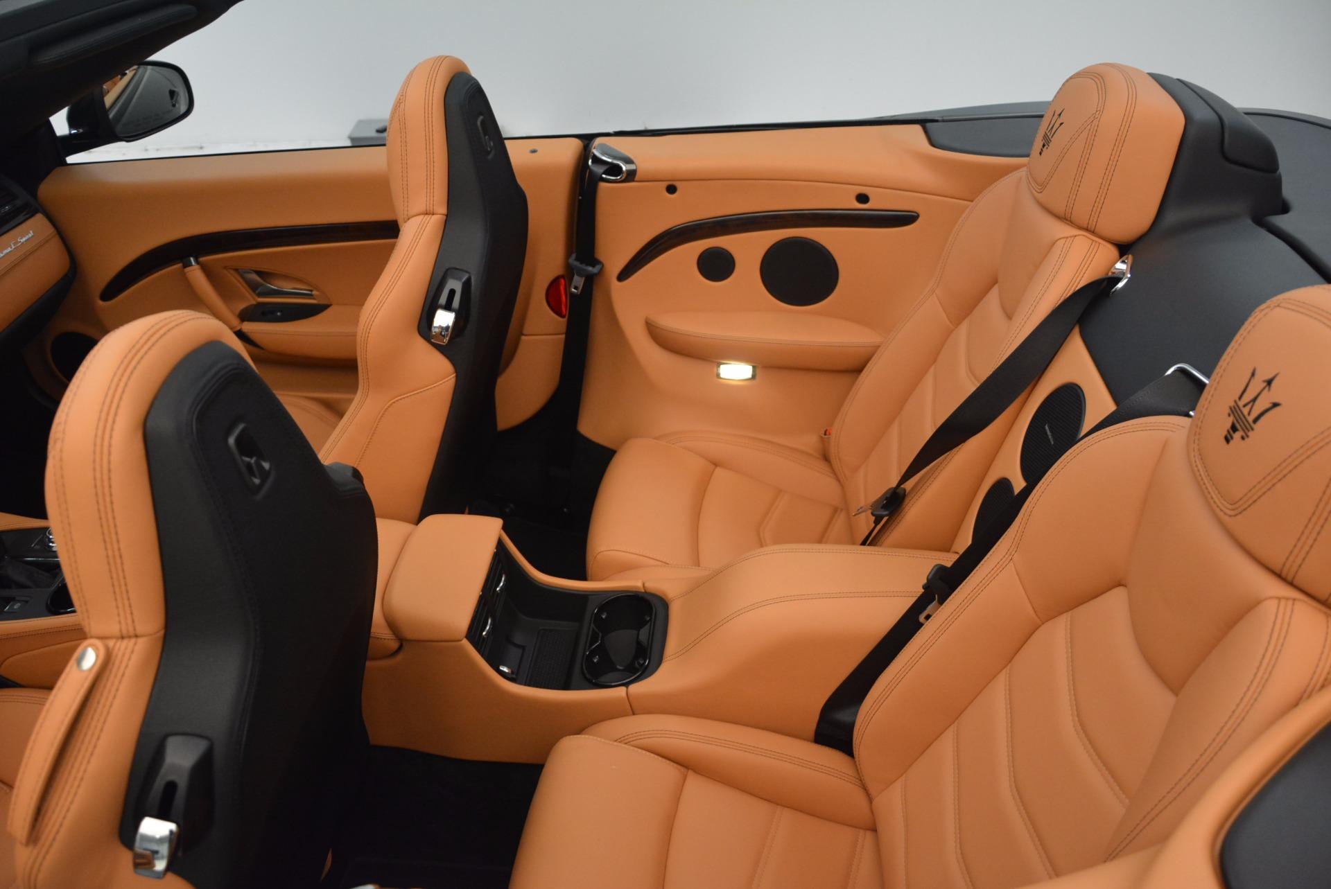 New 2018 Maserati GranTurismo Sport Convertible For Sale In Westport, CT 1795_p31