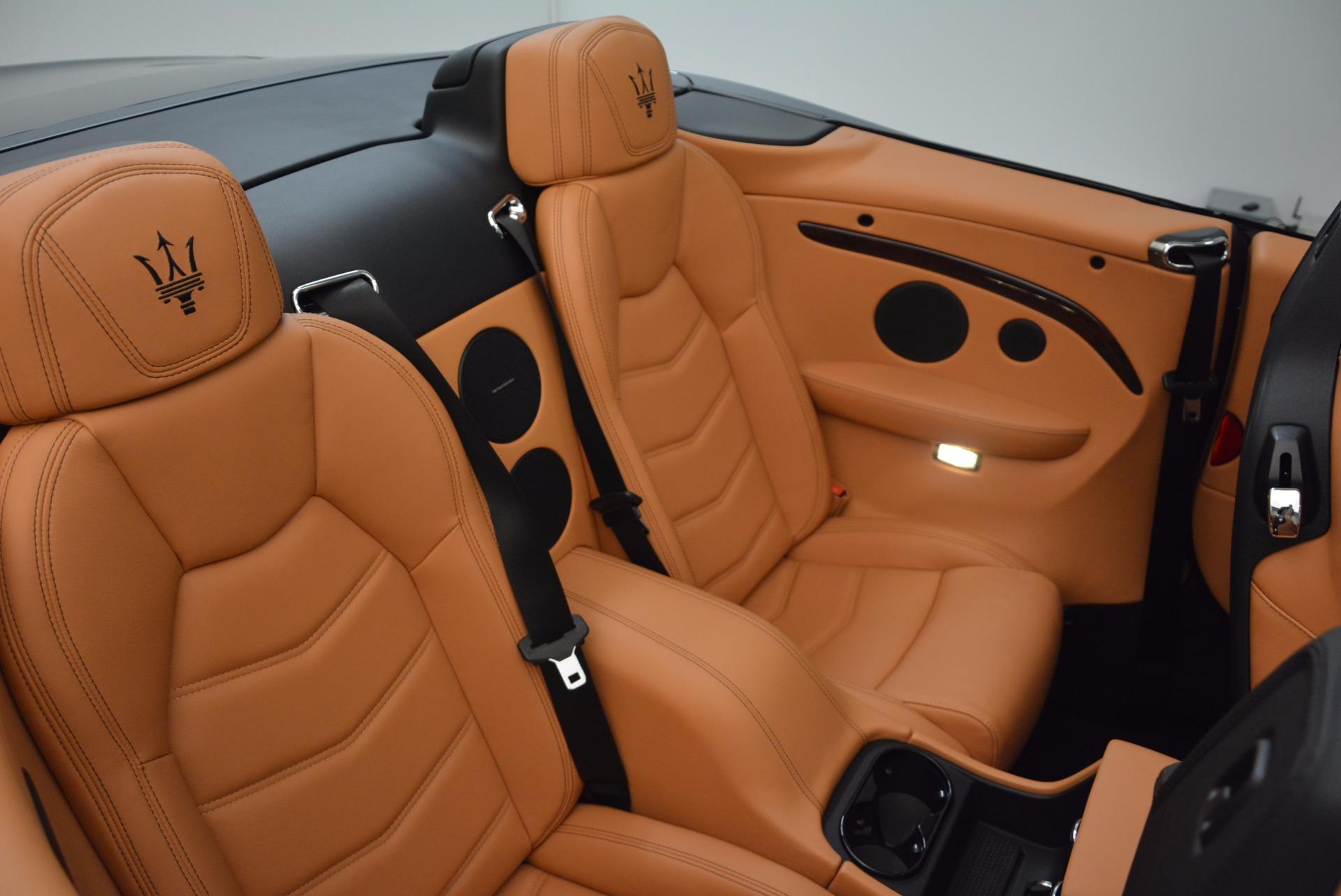 New 2018 Maserati GranTurismo Sport Convertible For Sale In Westport, CT 1795_p35