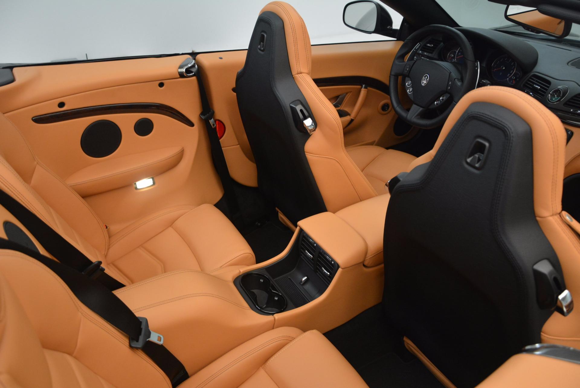 New 2018 Maserati GranTurismo Sport Convertible For Sale In Westport, CT 1795_p36