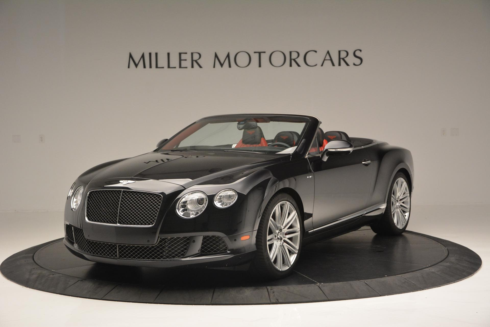 Used 2014 Bentley Continental GT Speed Convertible For Sale In Westport, CT 18_main