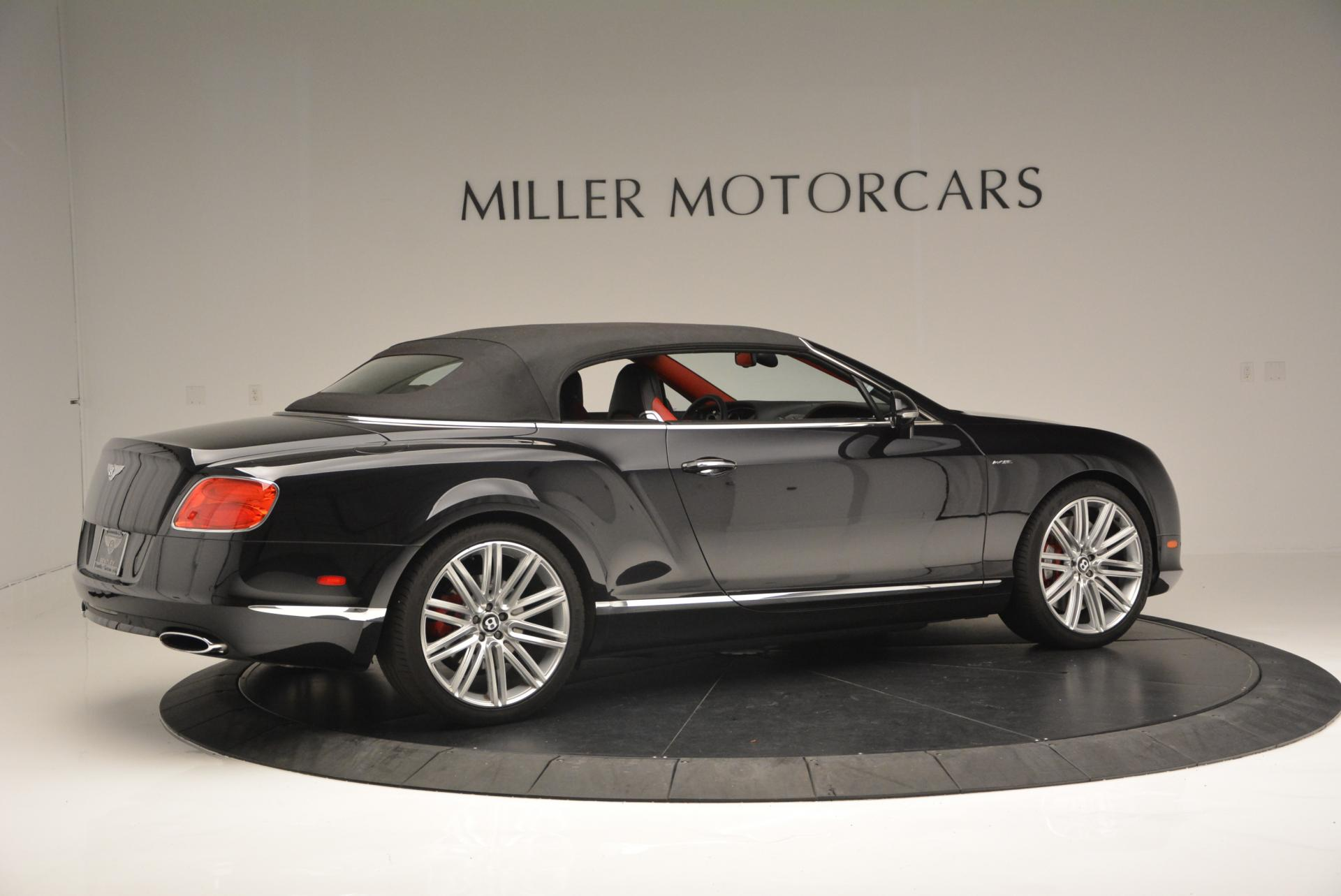 Used 2014 Bentley Continental GT Speed Convertible For Sale In Westport, CT 18_p21