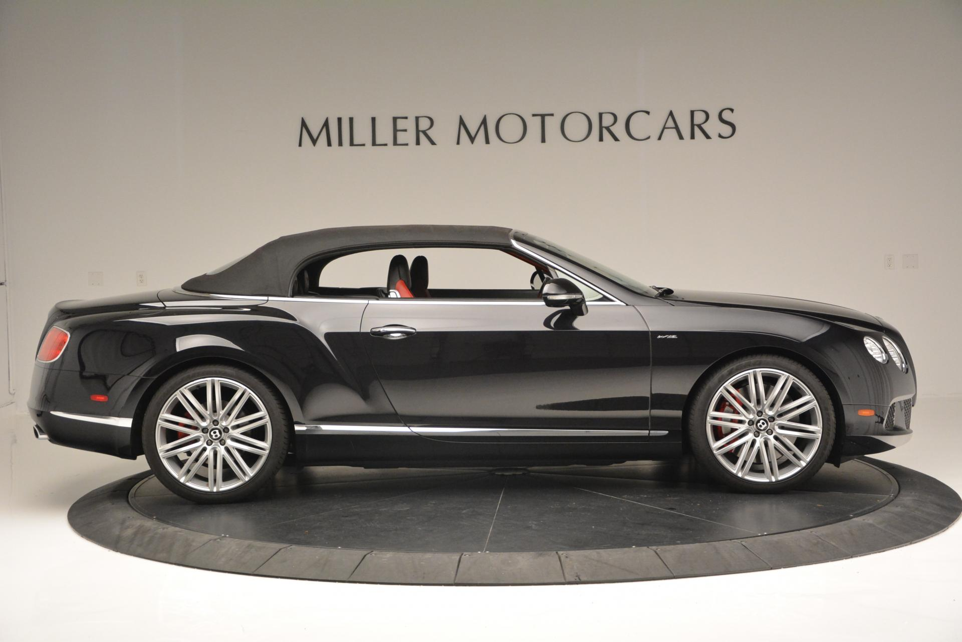 Used 2014 Bentley Continental GT Speed Convertible For Sale In Westport, CT 18_p22