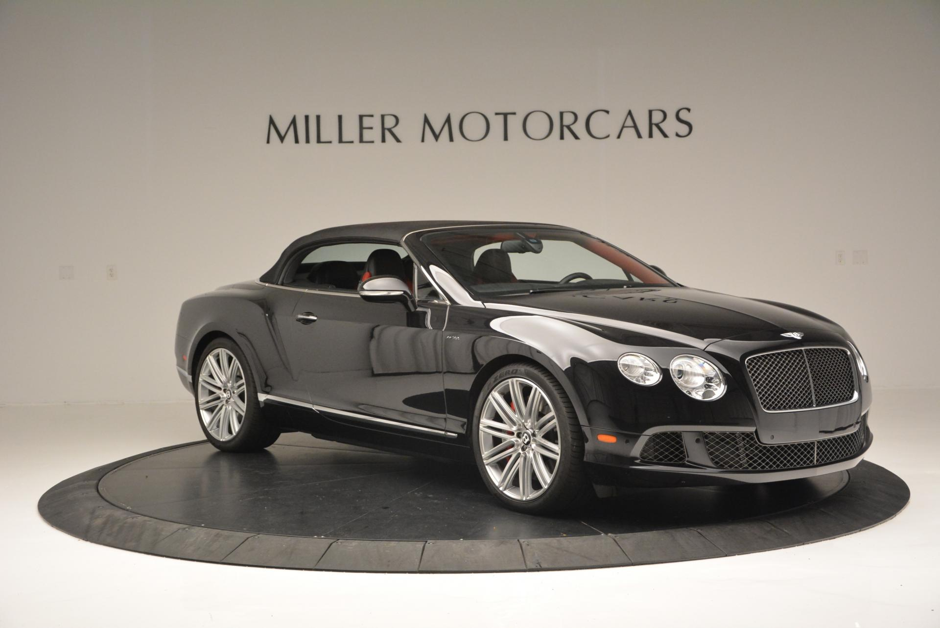 Used 2014 Bentley Continental GT Speed Convertible For Sale In Westport, CT 18_p23