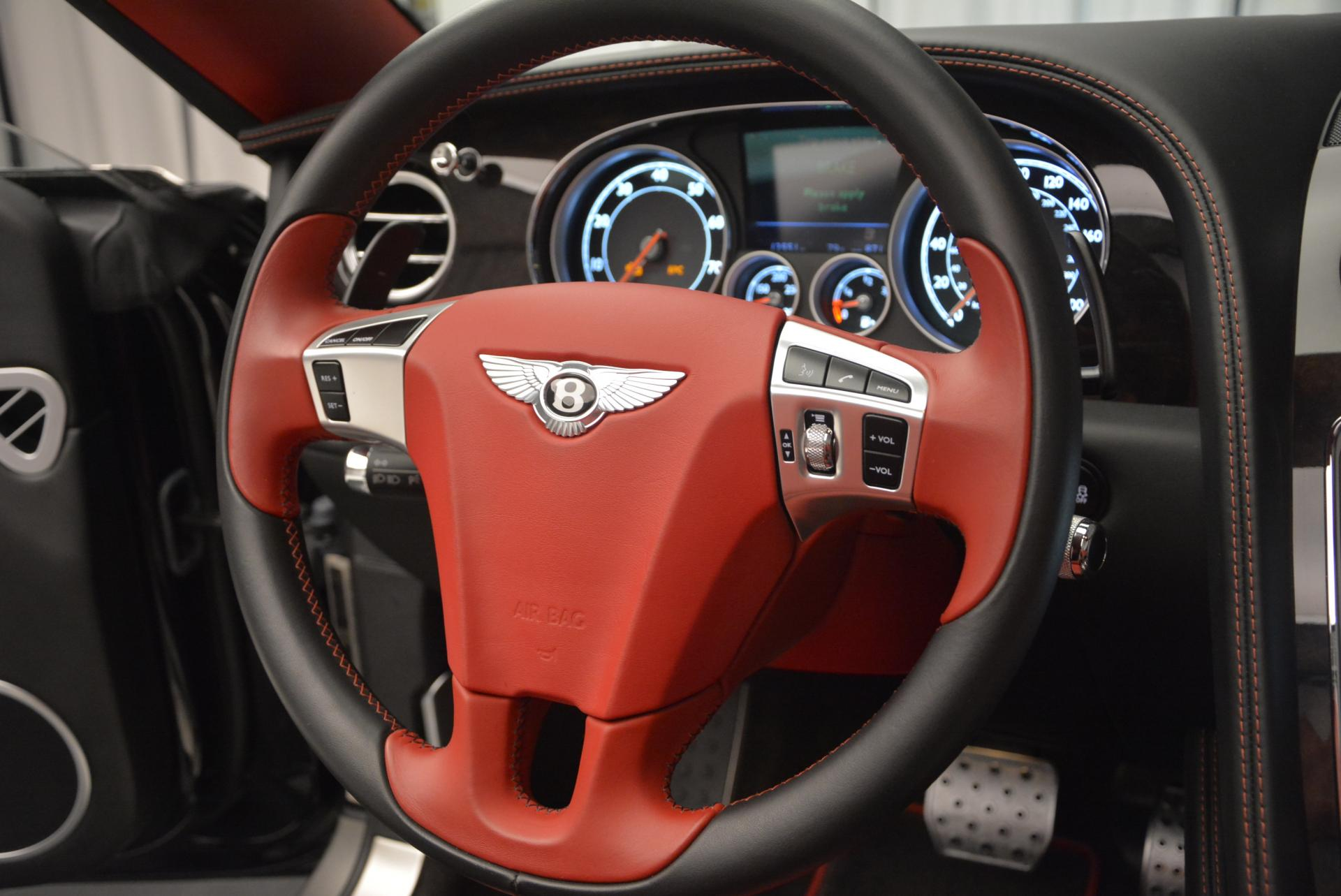 Used 2014 Bentley Continental GT Speed Convertible For Sale In Westport, CT 18_p38