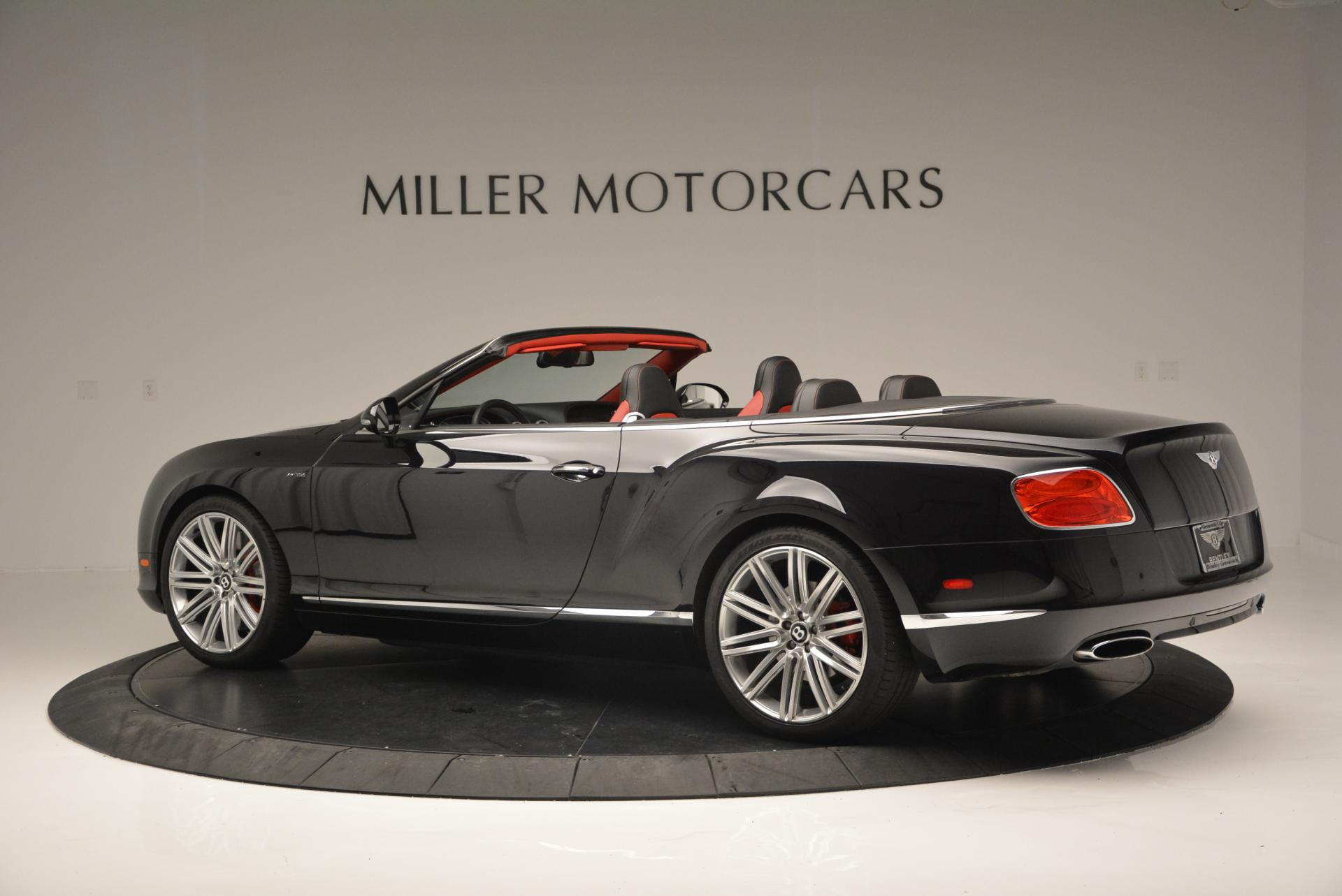 Used 2014 Bentley Continental GT Speed Convertible For Sale In Westport, CT 18_p4