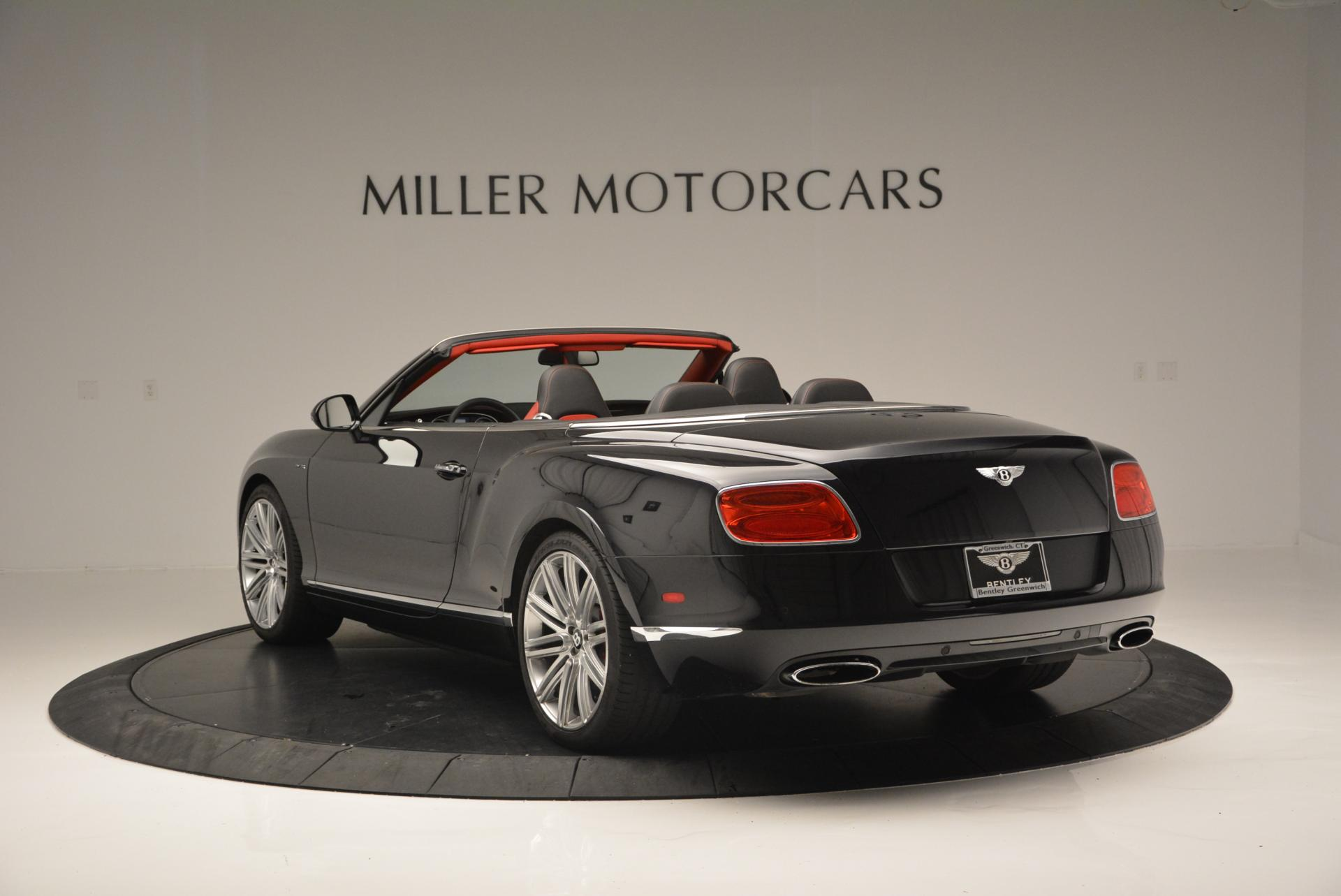 Used 2014 Bentley Continental GT Speed Convertible For Sale In Westport, CT 18_p5