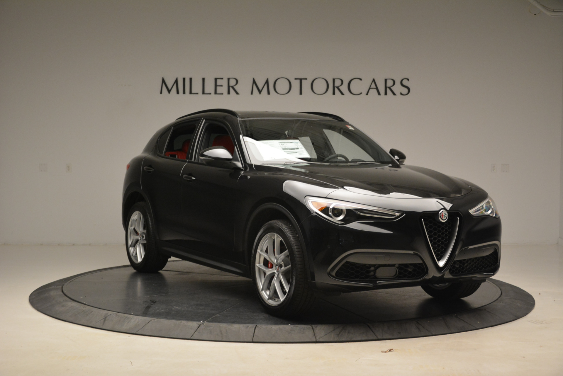 New 2018 Alfa Romeo Stelvio Ti Sport Q4 For Sale In Westport, CT 1804_p11