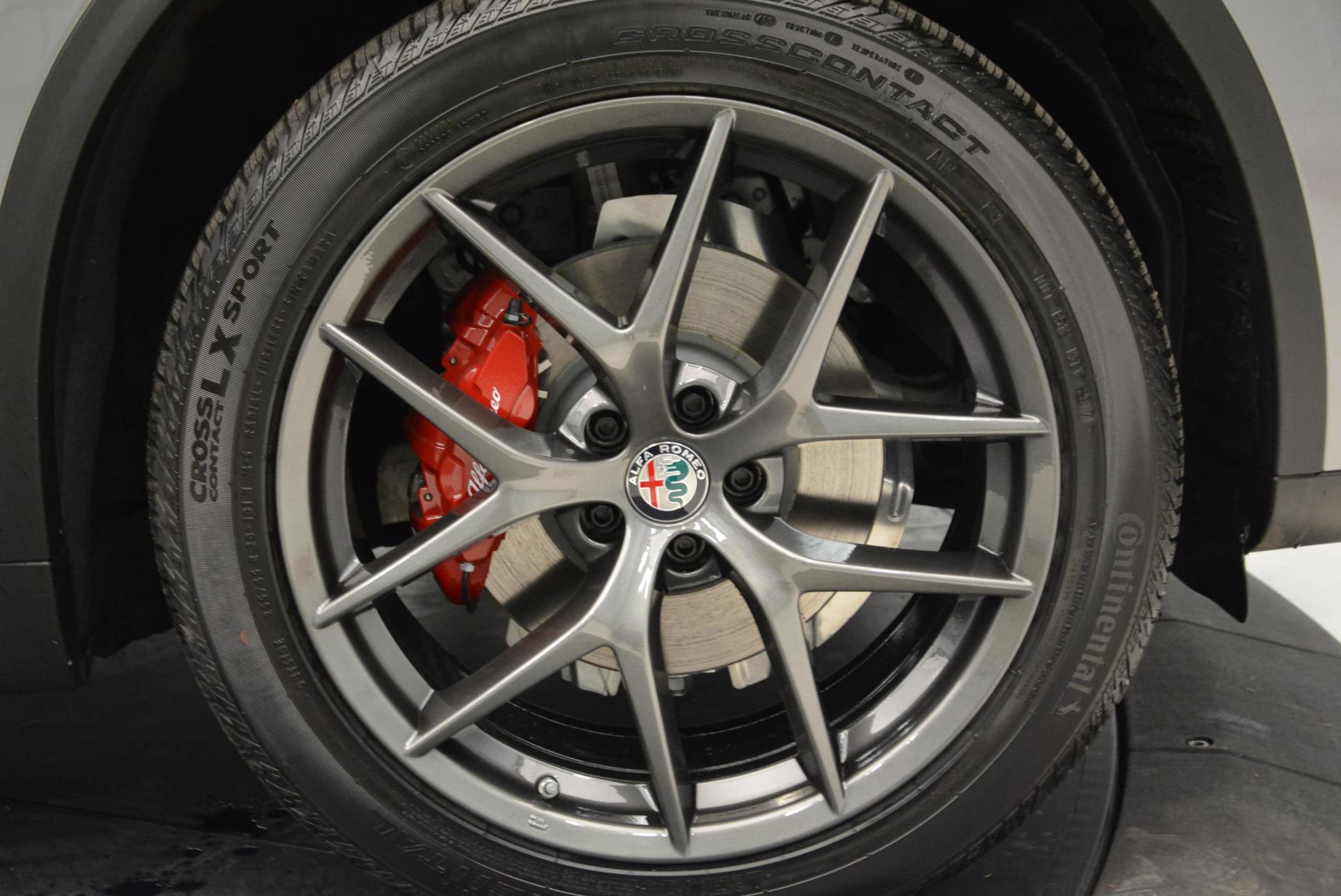 New 2018 Alfa Romeo Stelvio Ti Sport Q4 For Sale In Westport, CT 1805_p25