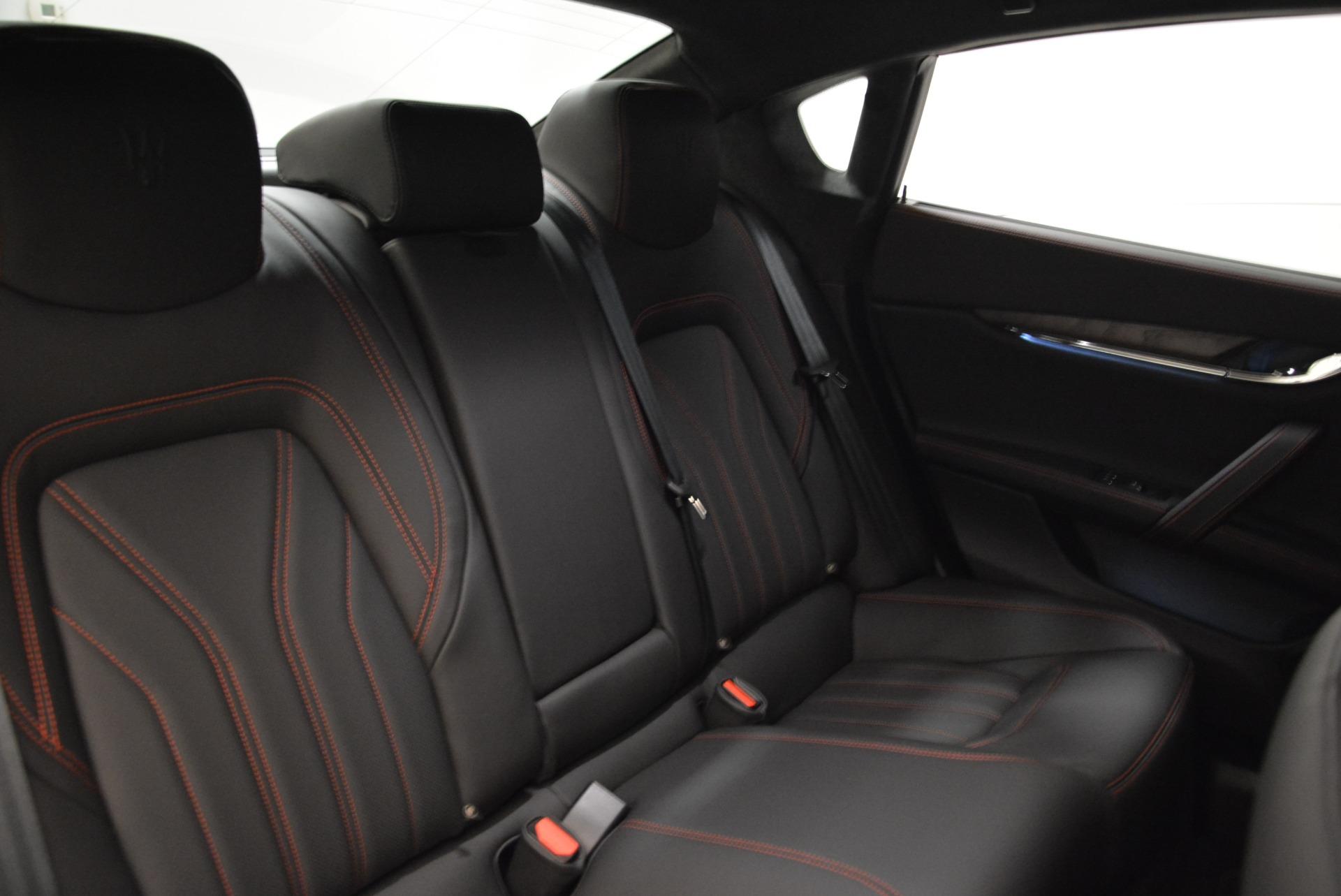 New 2018 Maserati Quattroporte S Q4 GranLusso For Sale In Westport, CT 1815_p25