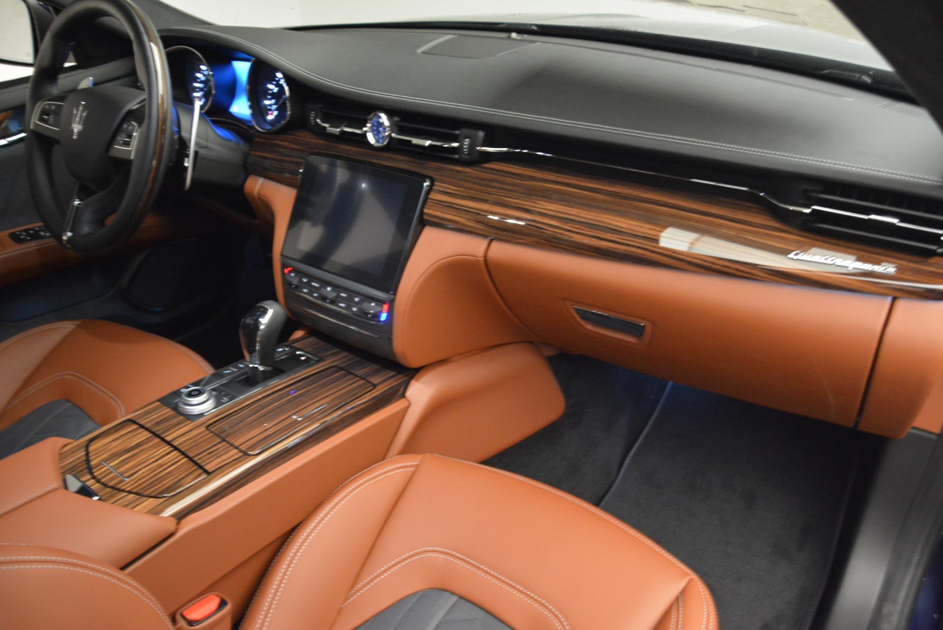 New 2018 Maserati Quattroporte S Q4 GranLusso For Sale In Westport, CT 1816_p20