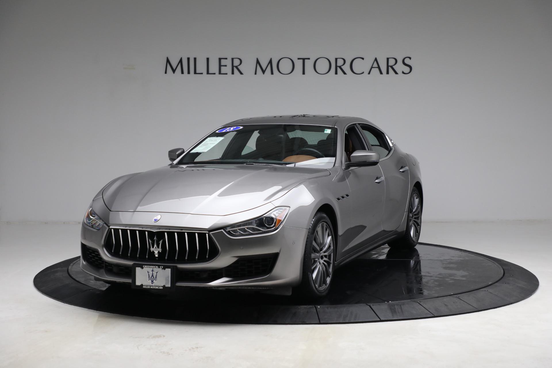 New 2018 Maserati Ghibli S Q4 For Sale In Westport, CT 1819_main