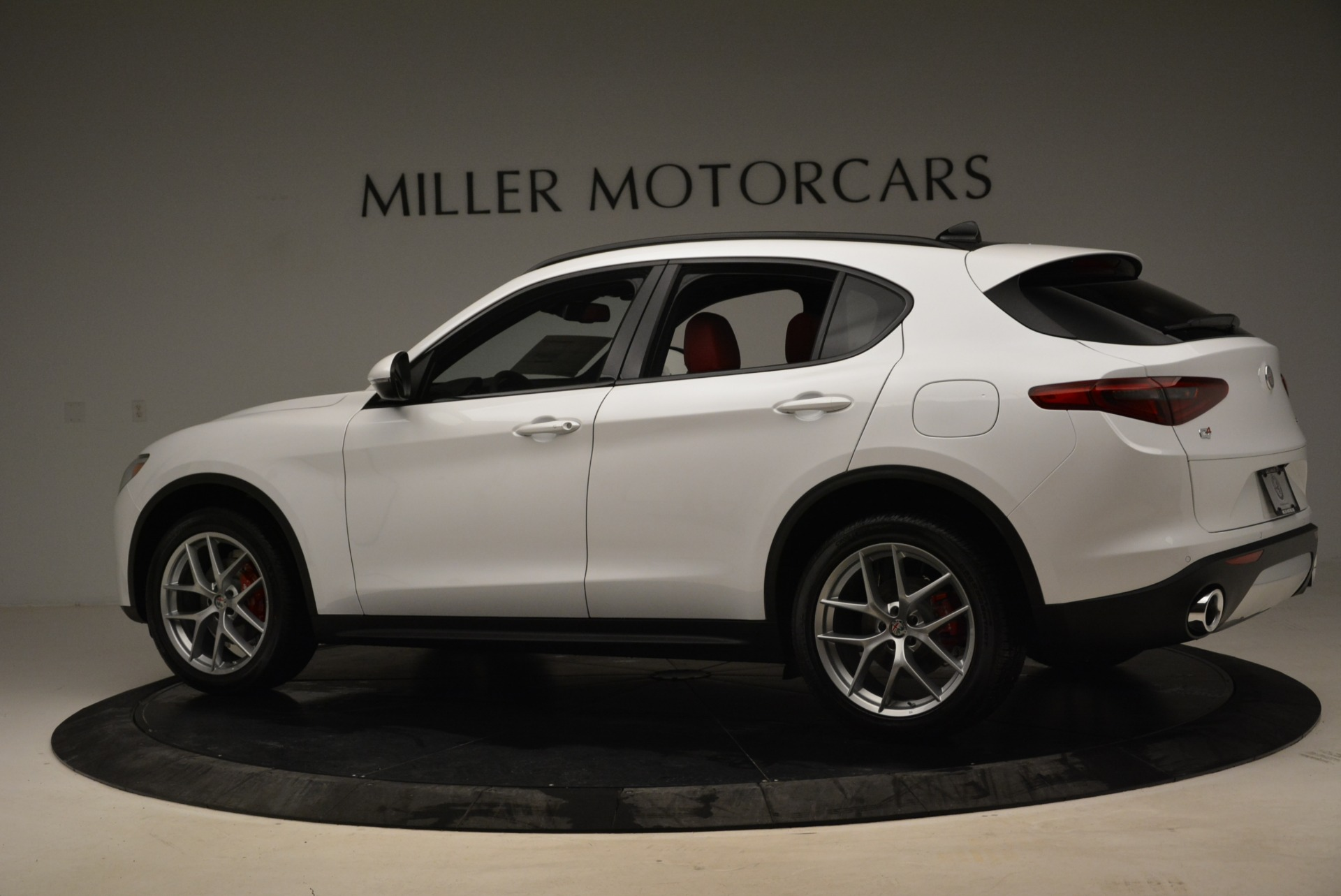 New 2018 Alfa Romeo Stelvio Ti Sport Q4 For Sale In Westport, CT 1821_p2