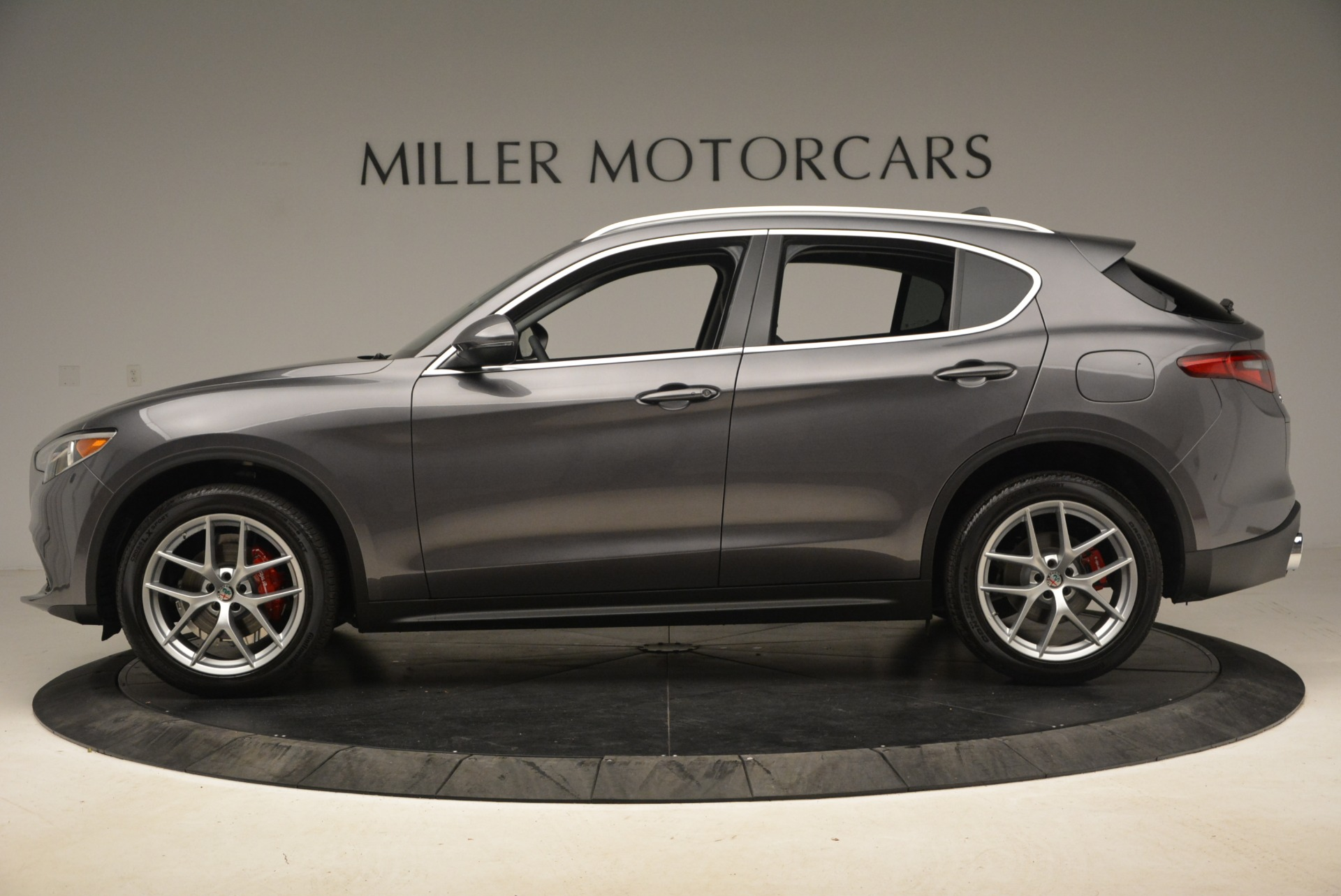 New 2018 Alfa Romeo Stelvio Ti Q4 For Sale In Westport, CT 1829_p3
