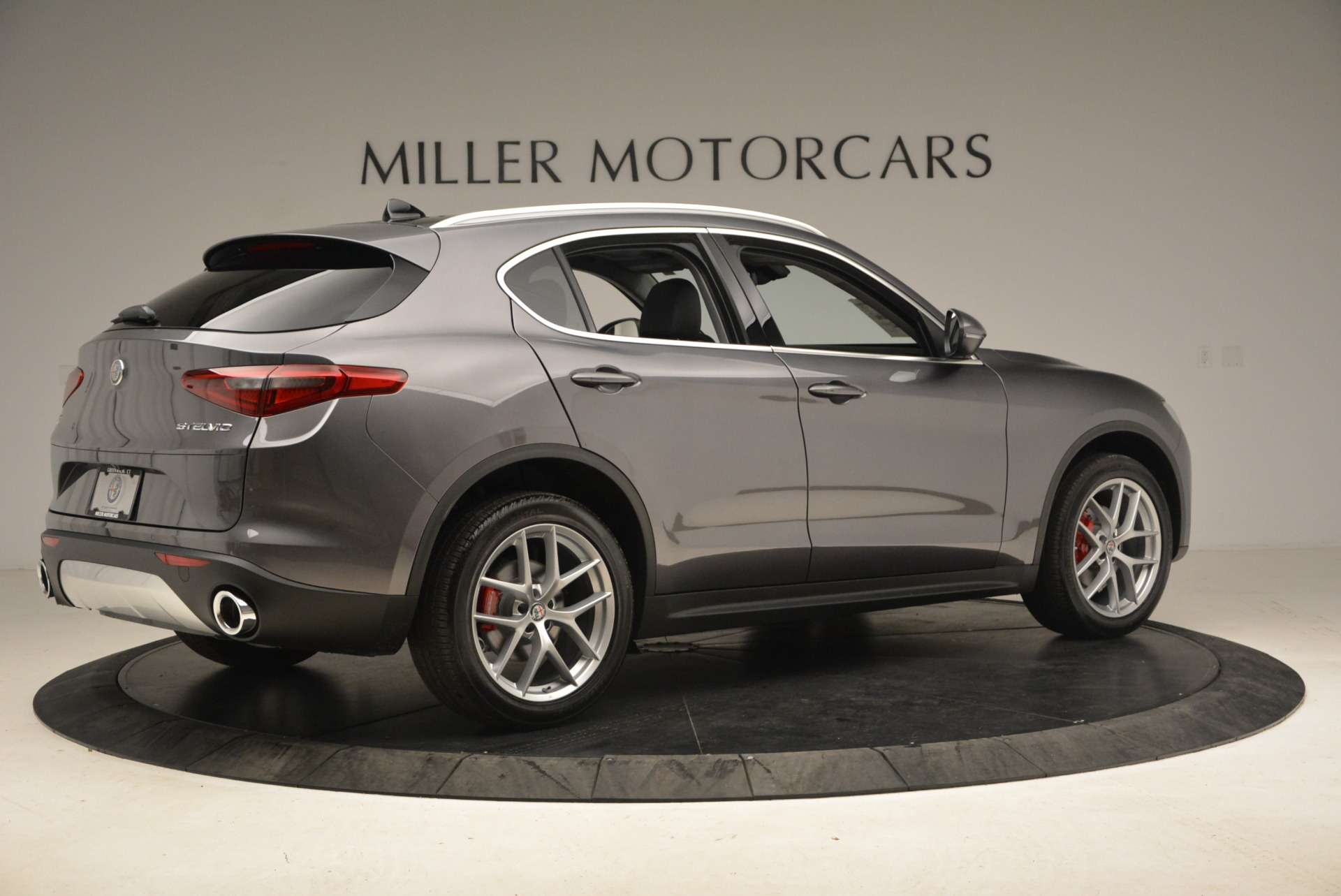 New 2018 Alfa Romeo Stelvio Ti Q4 For Sale In Westport, CT 1829_p8