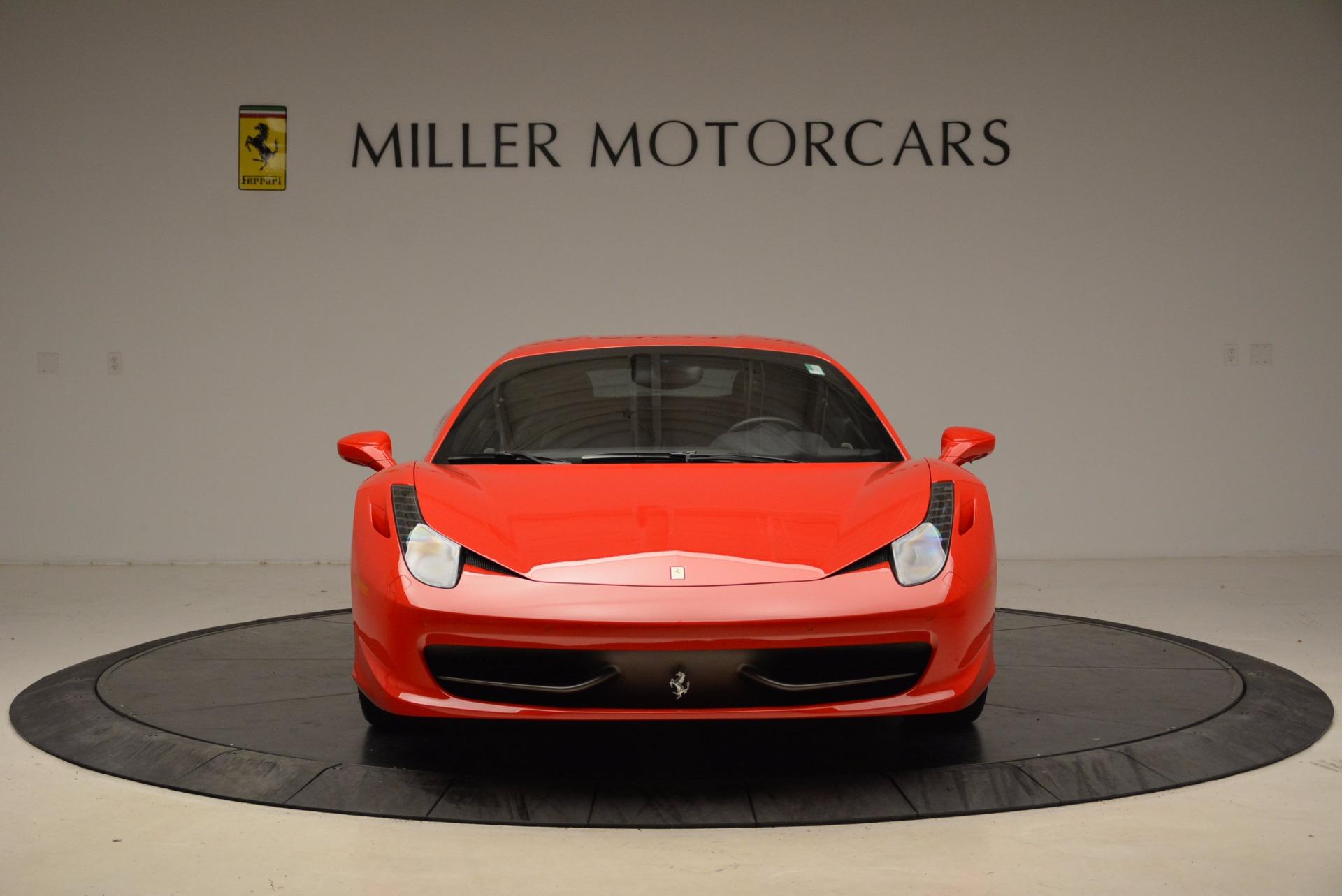 Used 2012 Ferrari 458 Italia  For Sale In Westport, CT 1833_p12