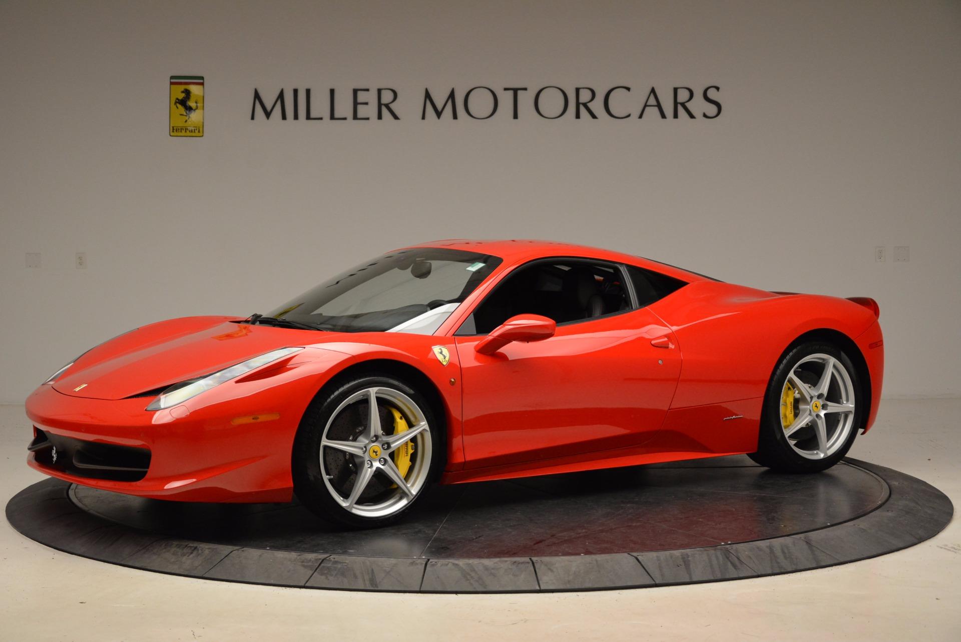 Used 2012 Ferrari 458 Italia  For Sale In Westport, CT 1833_p2