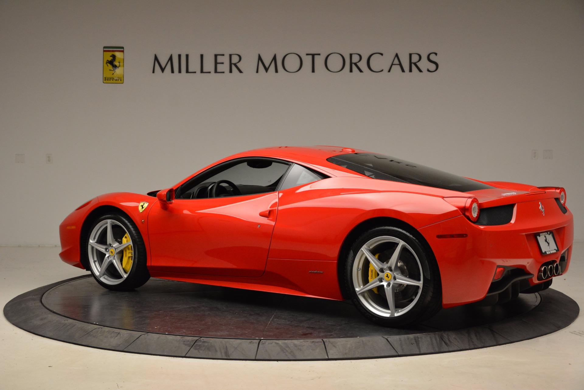 Used 2012 Ferrari 458 Italia  For Sale In Westport, CT 1833_p4