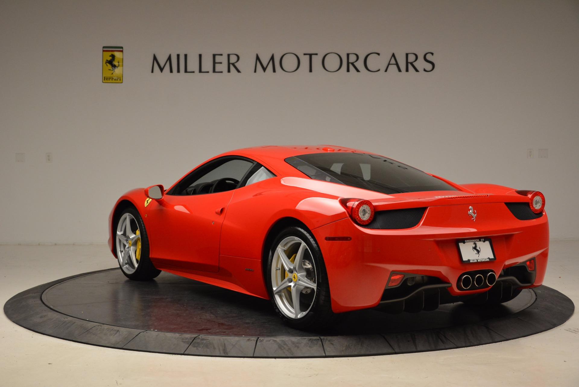 Used 2012 Ferrari 458 Italia  For Sale In Westport, CT 1833_p5