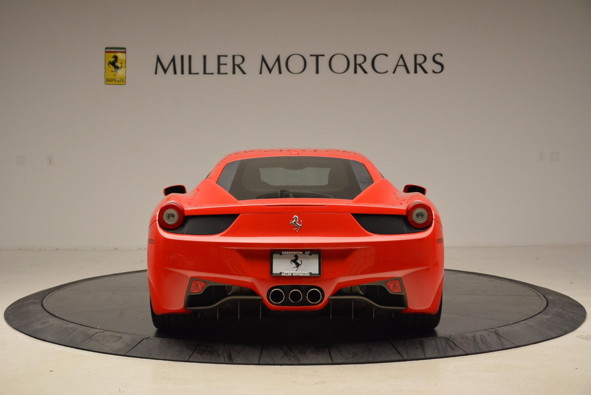 Used 2012 Ferrari 458 Italia  For Sale In Westport, CT 1833_p6