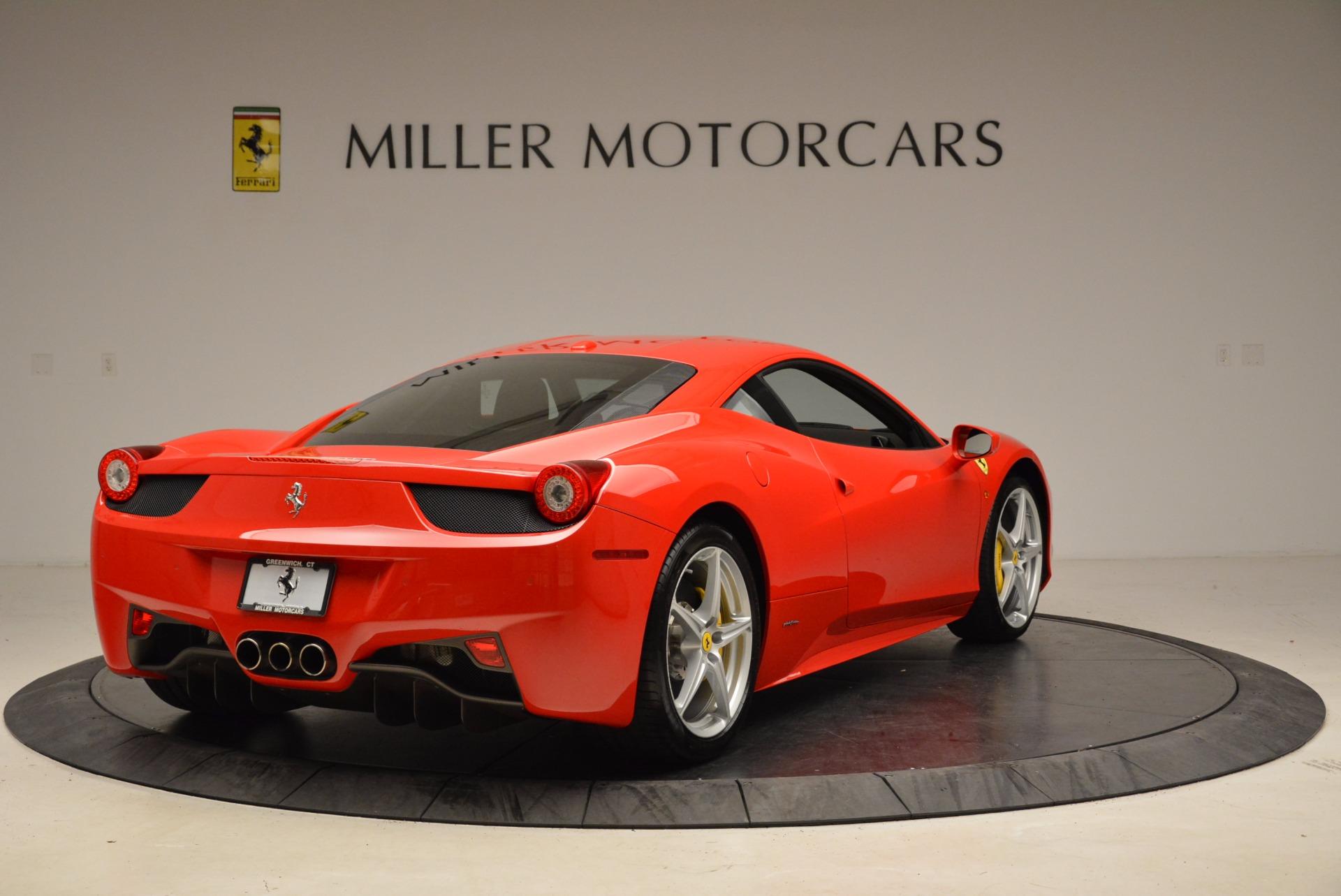 Used 2012 Ferrari 458 Italia  For Sale In Westport, CT 1833_p7