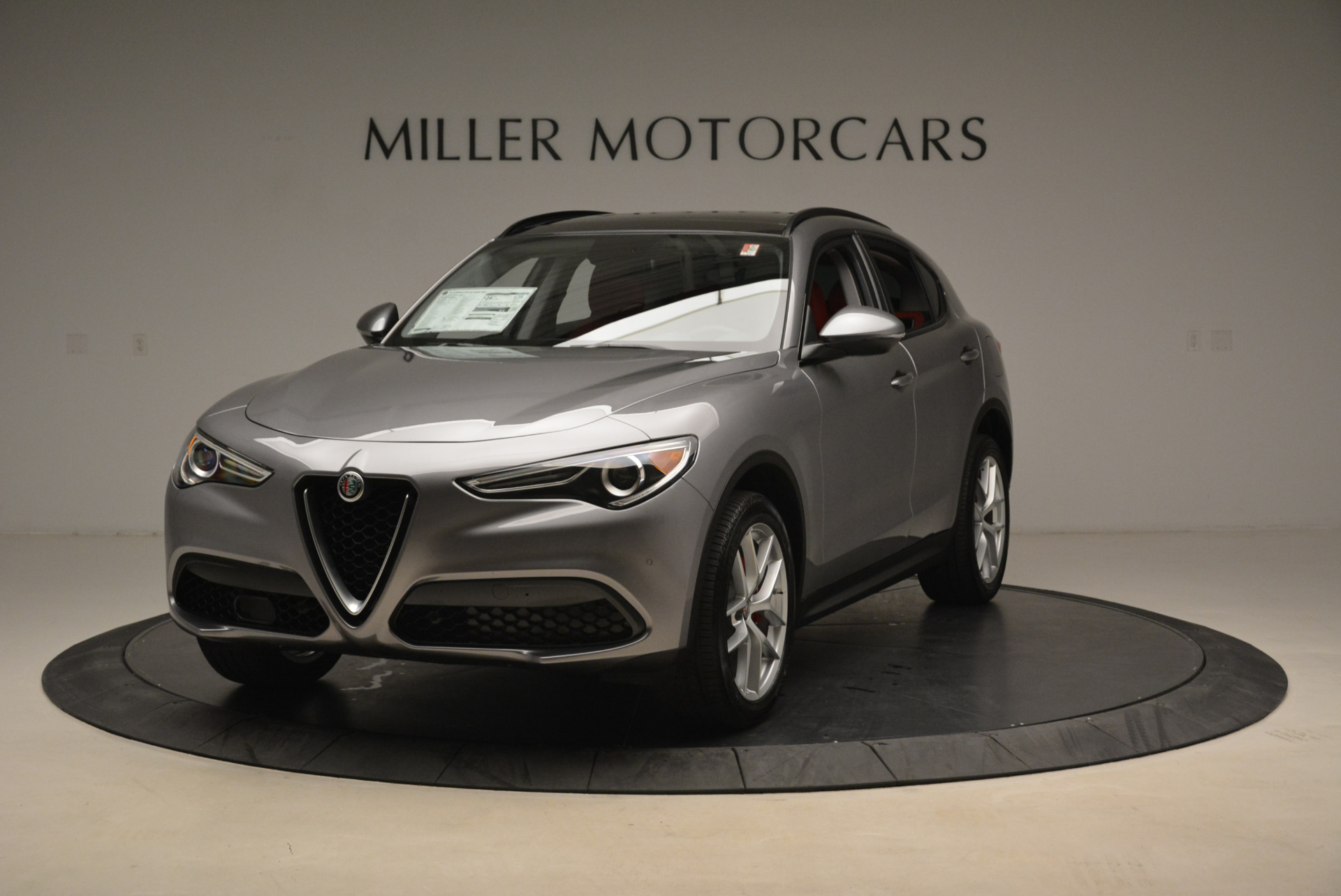 New 2018 Alfa Romeo Stelvio Sport Q4 For Sale In Westport, CT 1836_main