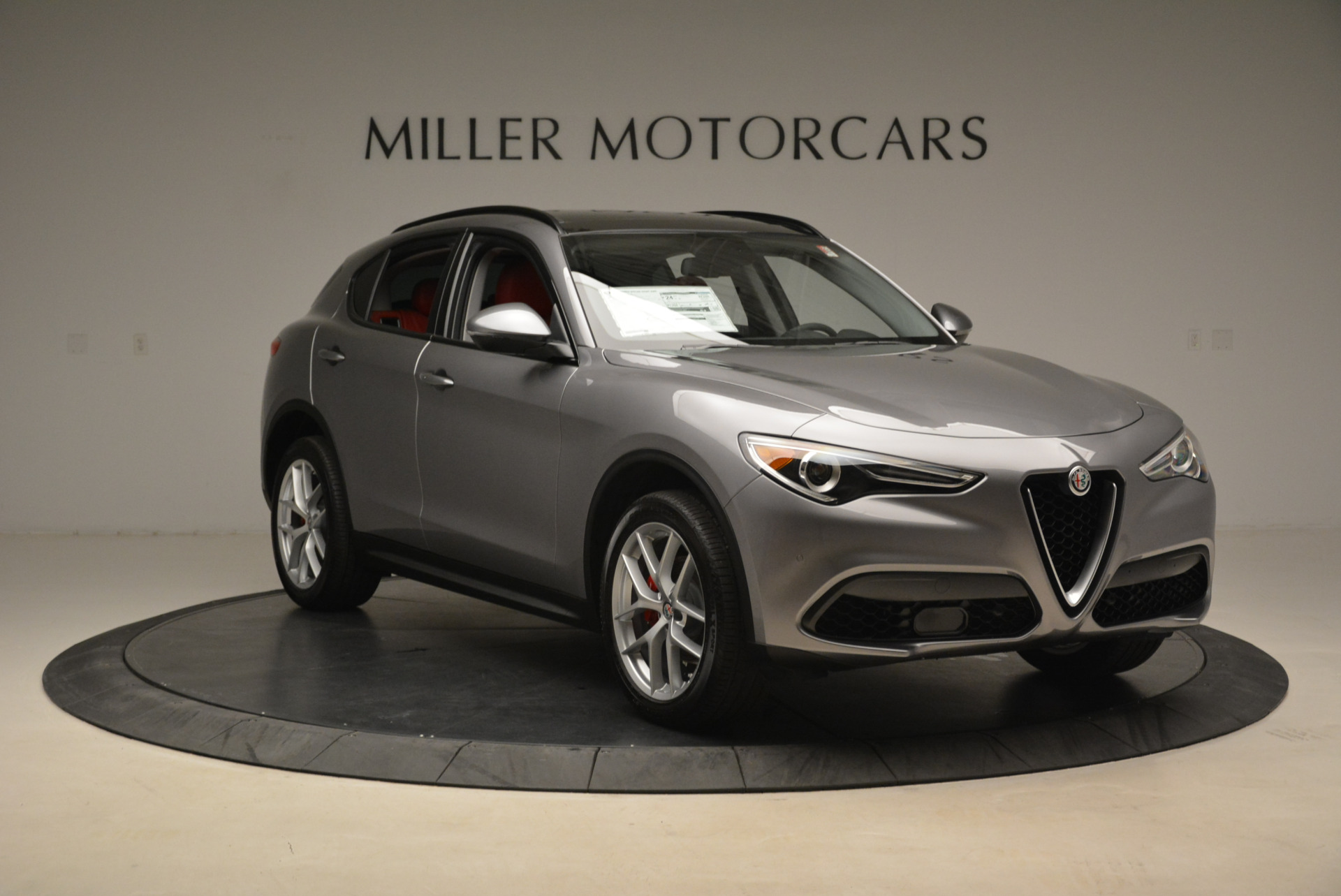 New 2018 Alfa Romeo Stelvio Sport Q4 For Sale In Westport, CT 1836_p11