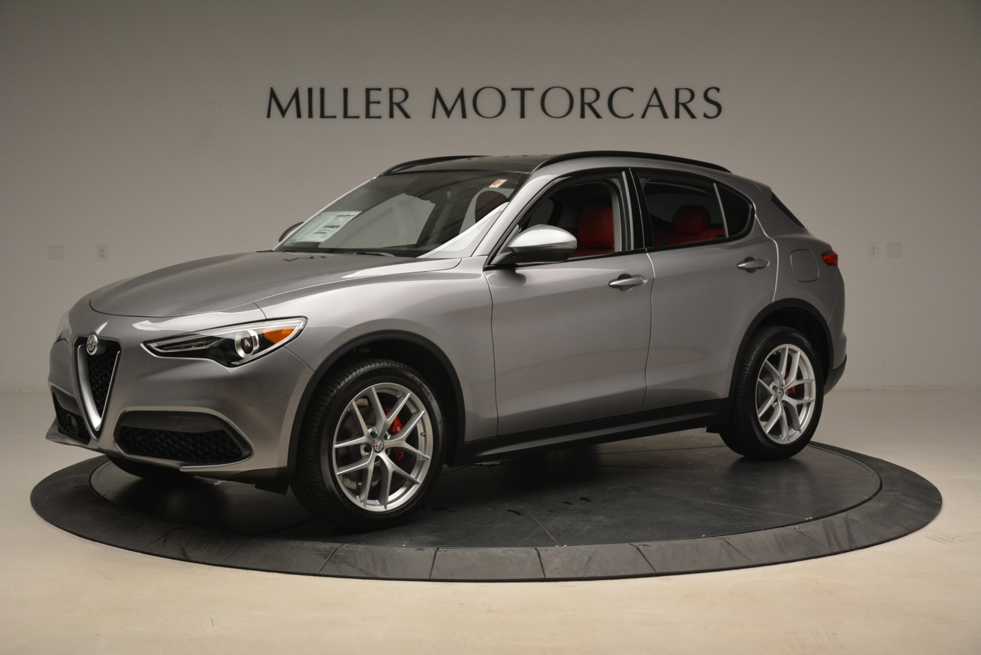 New 2018 Alfa Romeo Stelvio Sport Q4 For Sale In Westport, CT 1836_p2