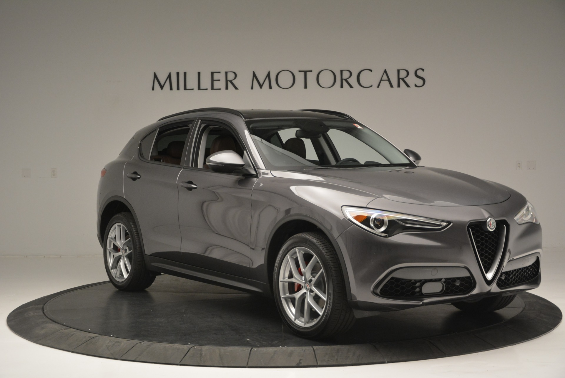 New 2018 Alfa Romeo Stelvio Sport Q4 For Sale In Westport, CT 1837_p11