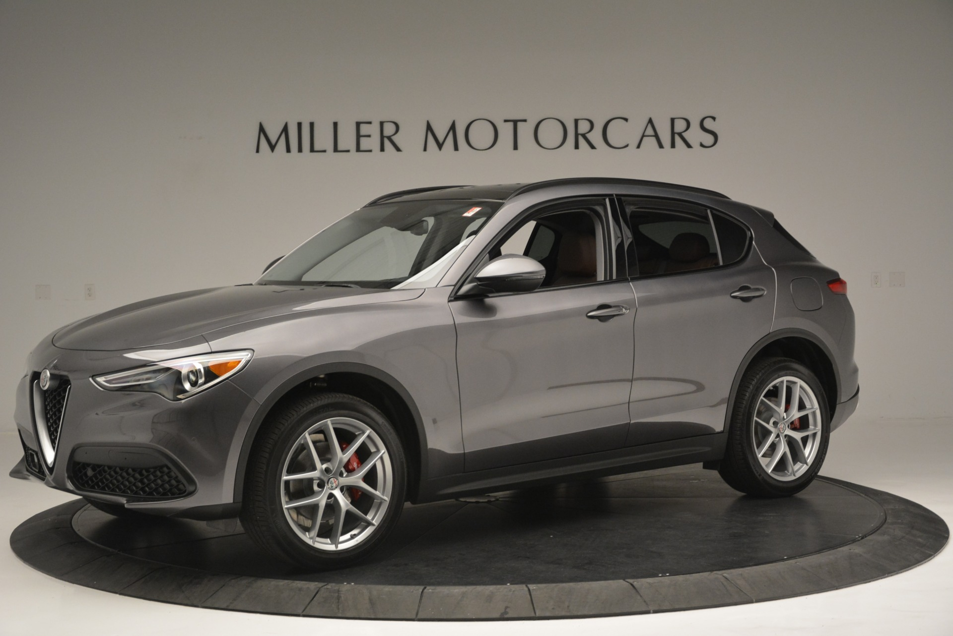 New 2018 Alfa Romeo Stelvio Sport Q4 For Sale In Westport, CT 1837_p2
