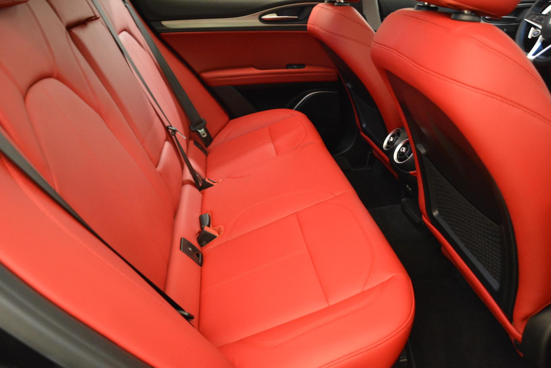 New 2018 Alfa Romeo Stelvio Sport Q4 For Sale In Westport, CT 1838_p23