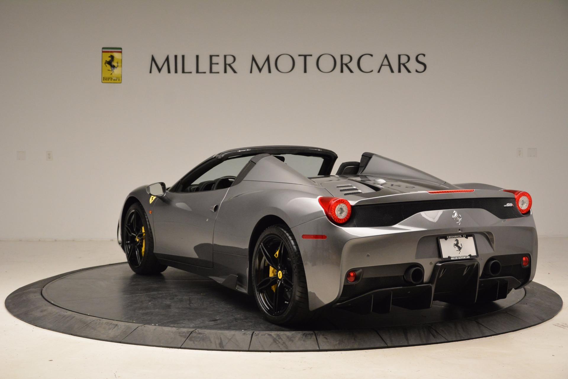 Used 2015 Ferrari 458 Speciale Aperta  For Sale In Westport, CT 1847_p5