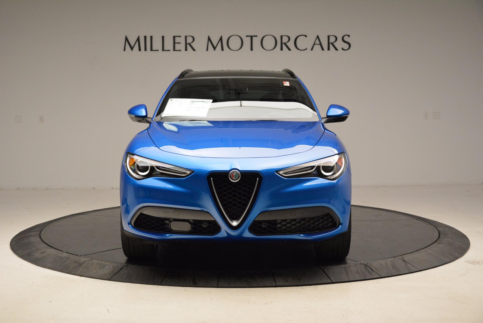 New 2018 Alfa Romeo Stelvio Ti Sport Q4 For Sale In Westport, CT 1849_p12