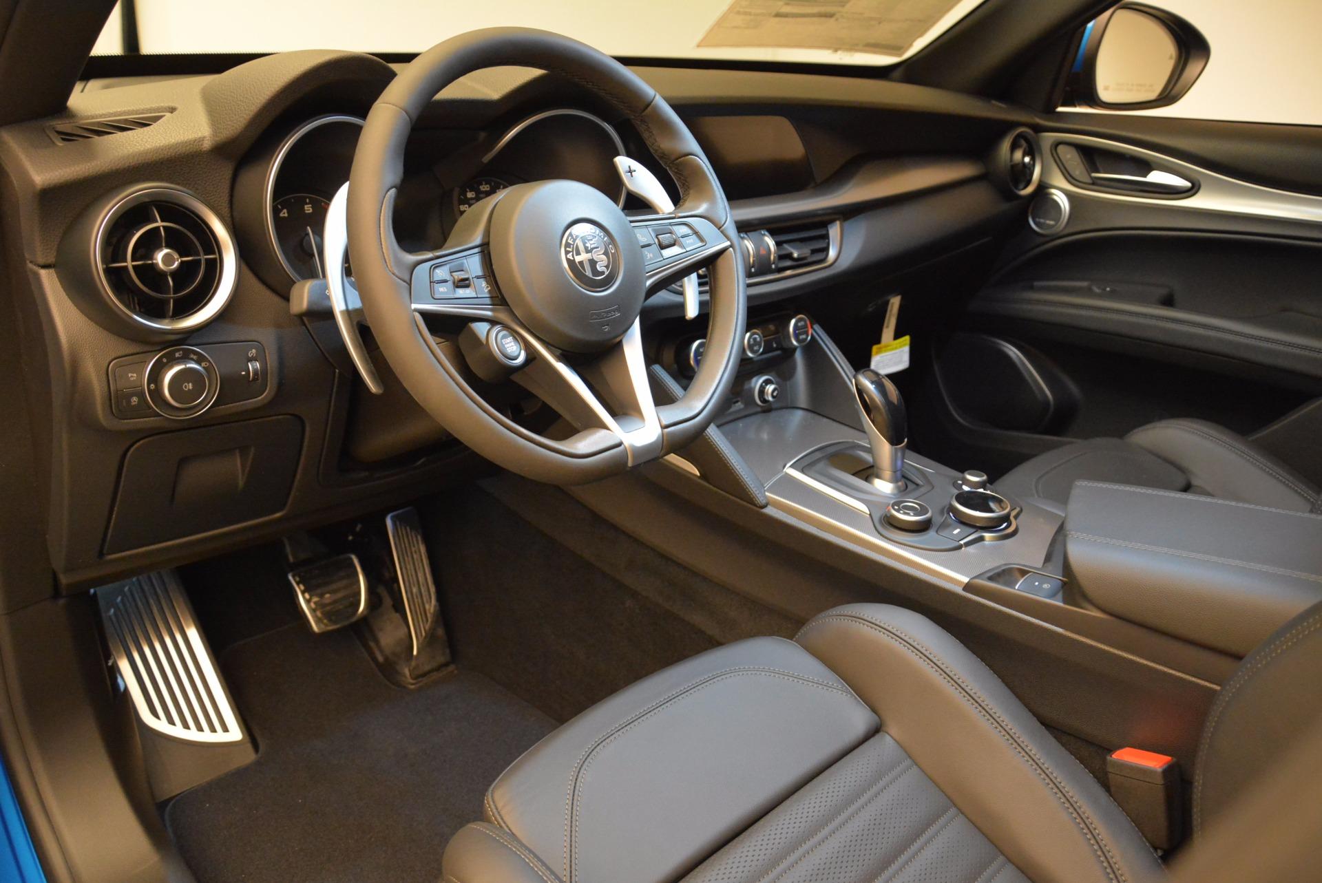 New 2018 Alfa Romeo Stelvio Ti Sport Q4 For Sale In Westport, CT 1849_p13