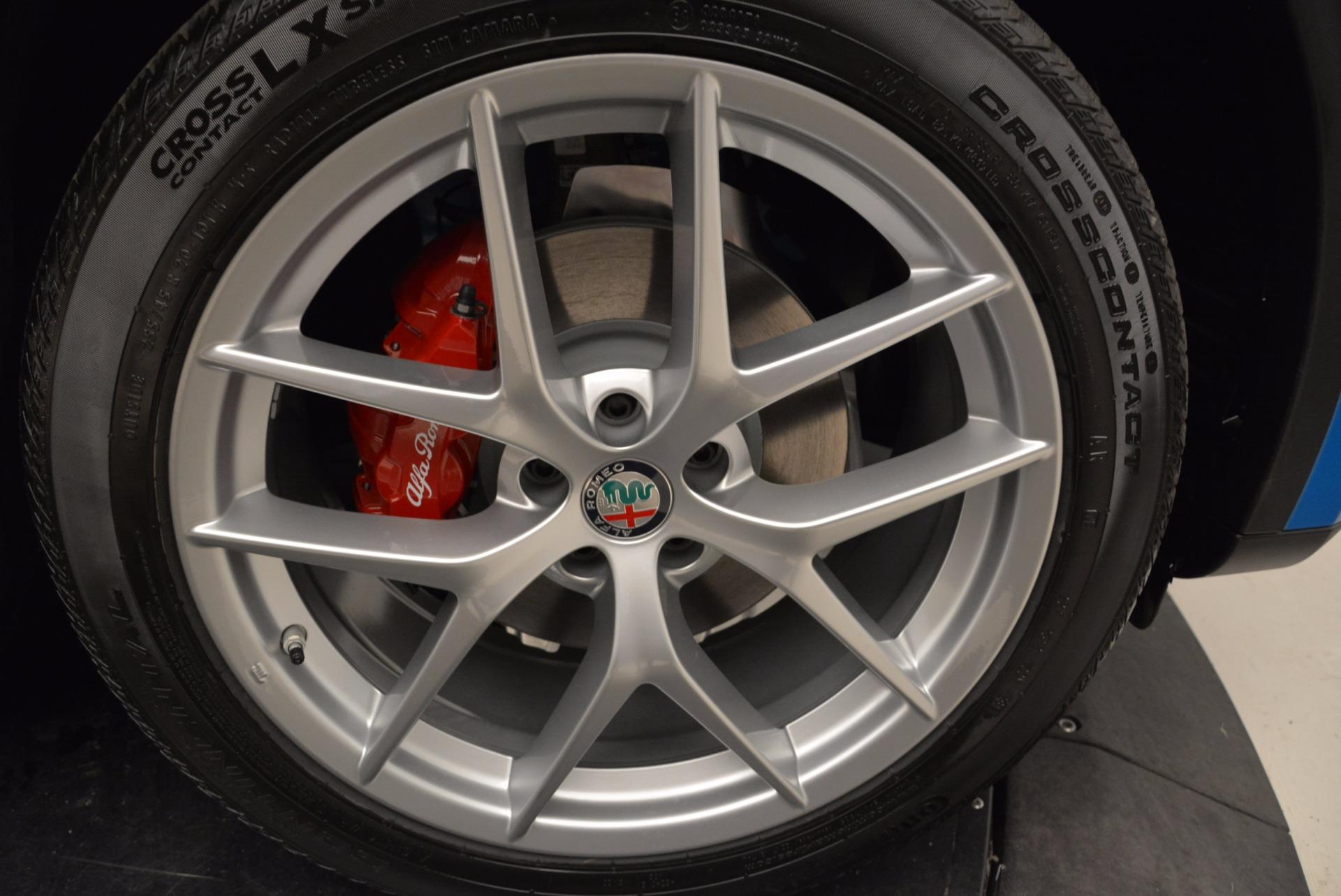 New 2018 Alfa Romeo Stelvio Ti Sport Q4 For Sale In Westport, CT 1849_p25