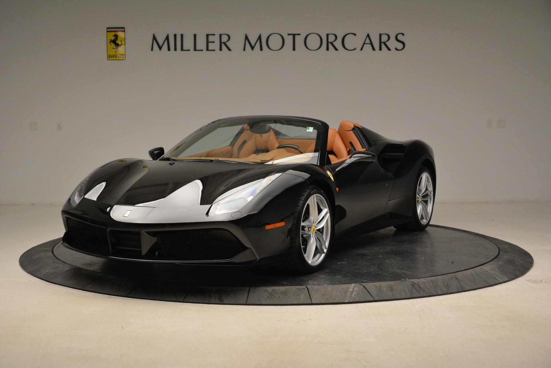 Used 2017 Ferrari 488 Spider  For Sale In Westport, CT 1853_main