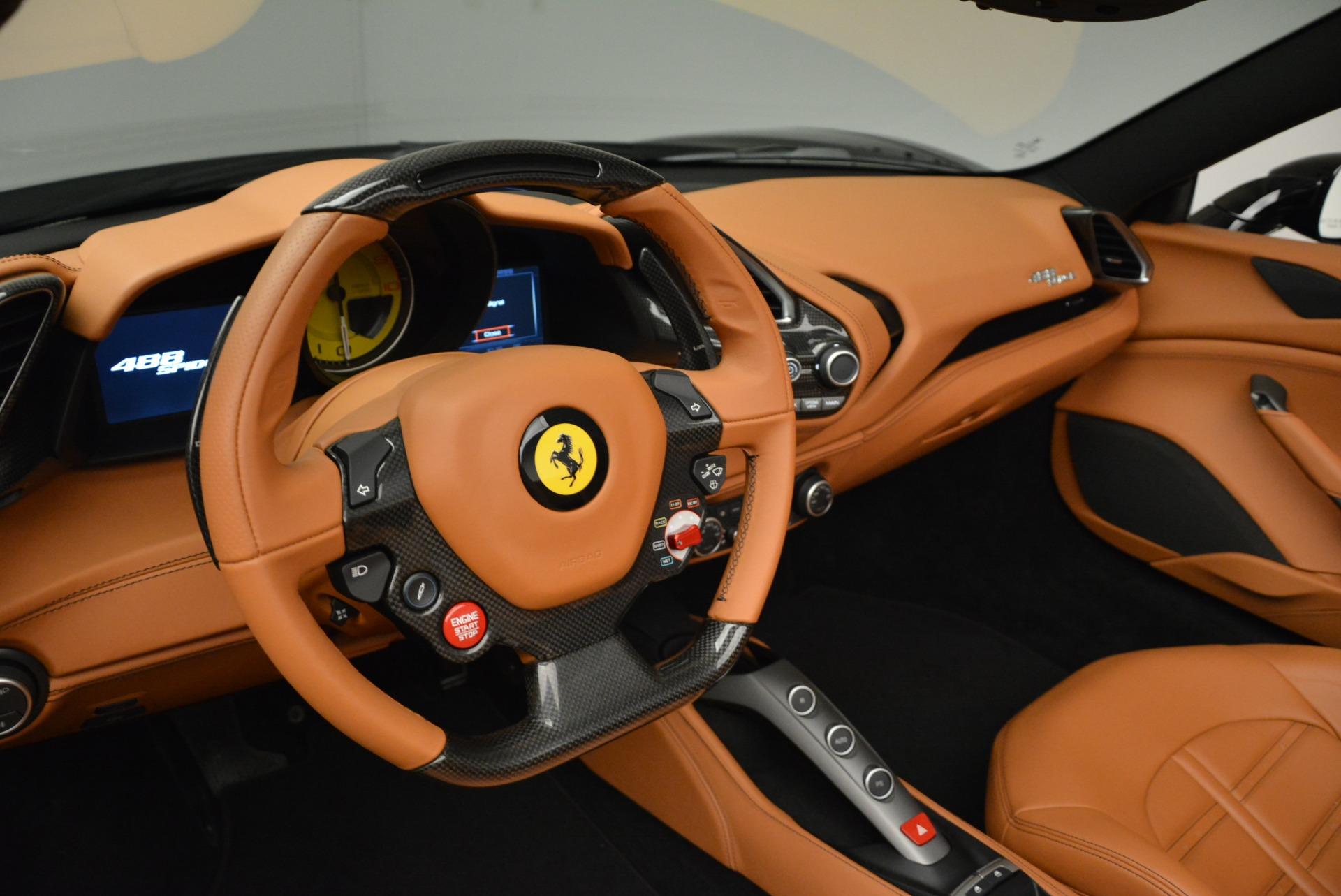 Used 2017 Ferrari 488 Spider  For Sale In Westport, CT 1853_p14